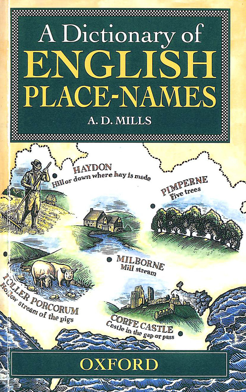 Image for A Dictionary of English Place-names (Oxford Paperback Reference)