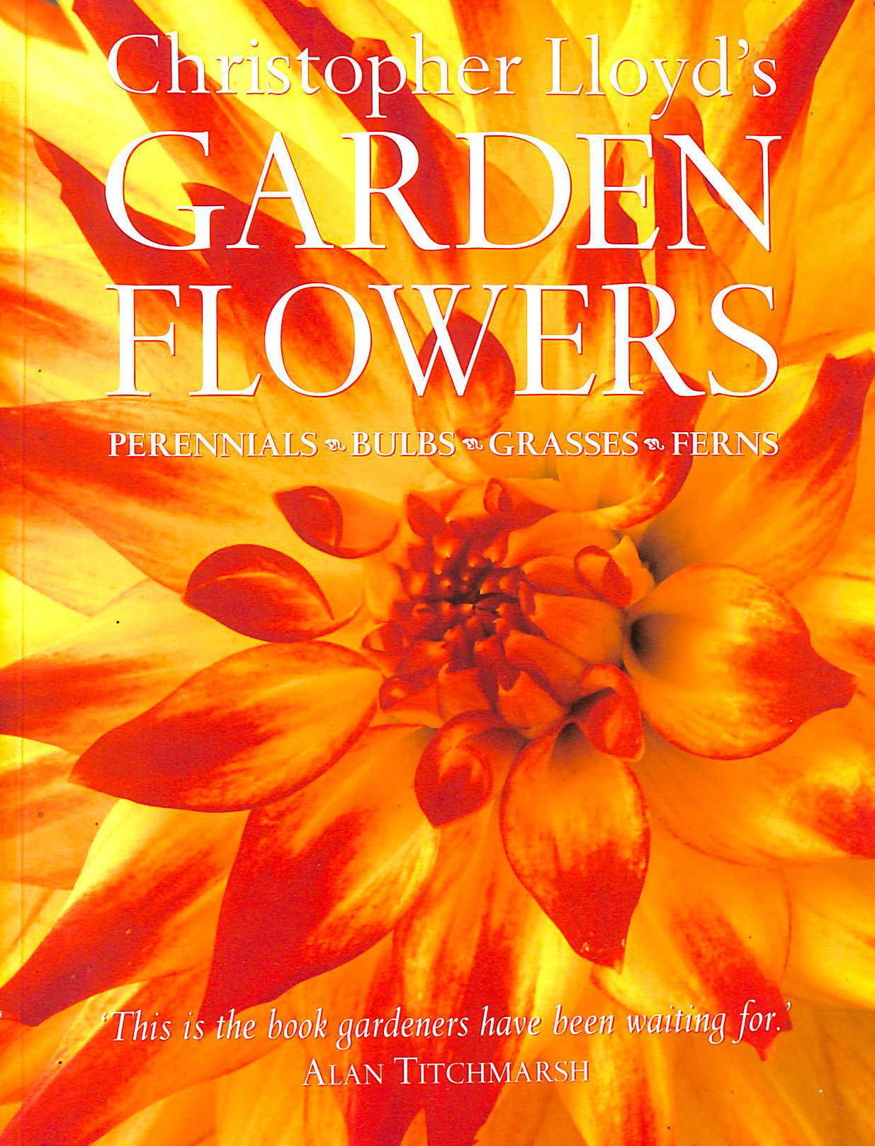 Image for Christopher Lloyd's Garden Flowers