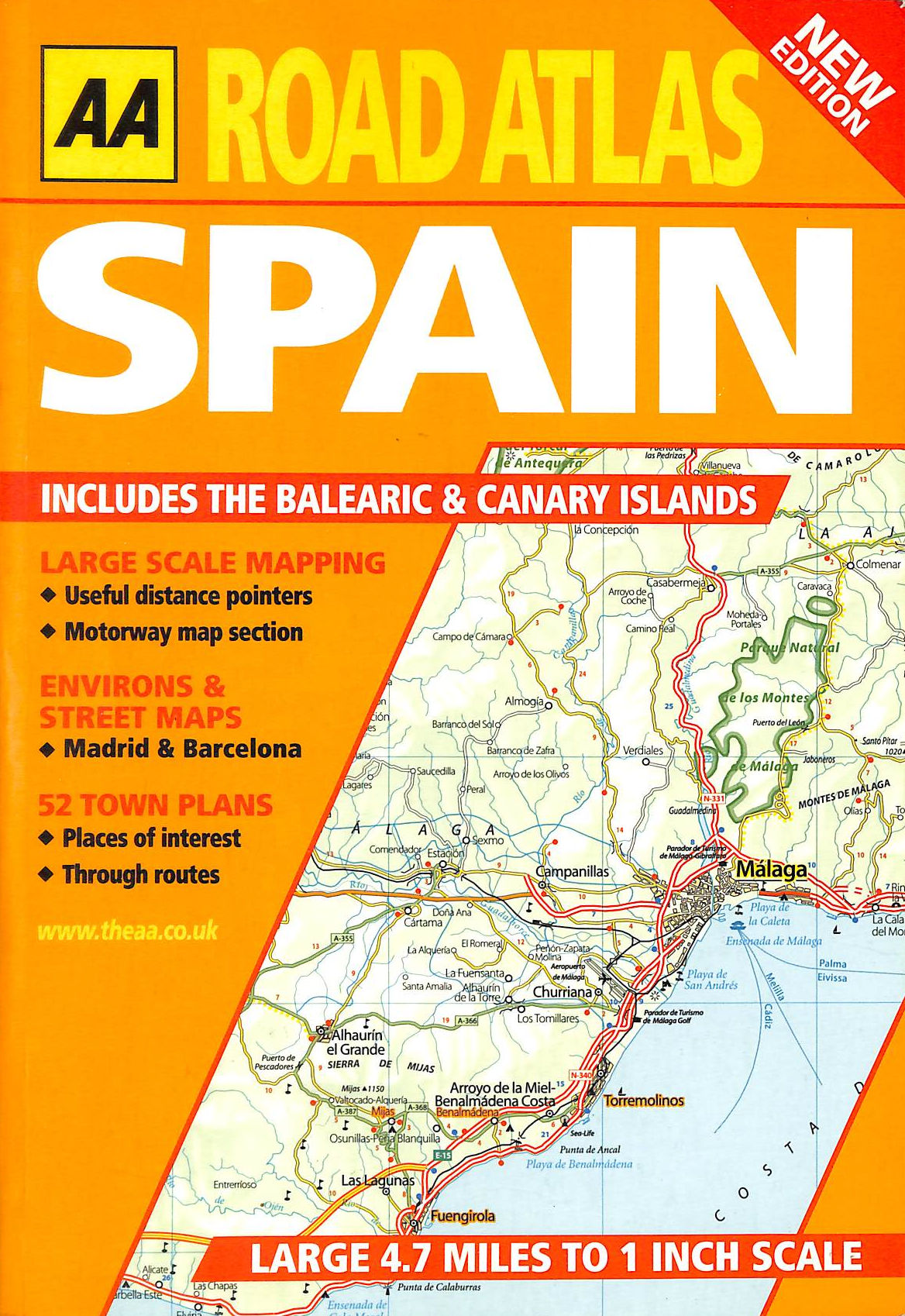 Image for Road Atlas Spain and Portugal (AA Atlases)