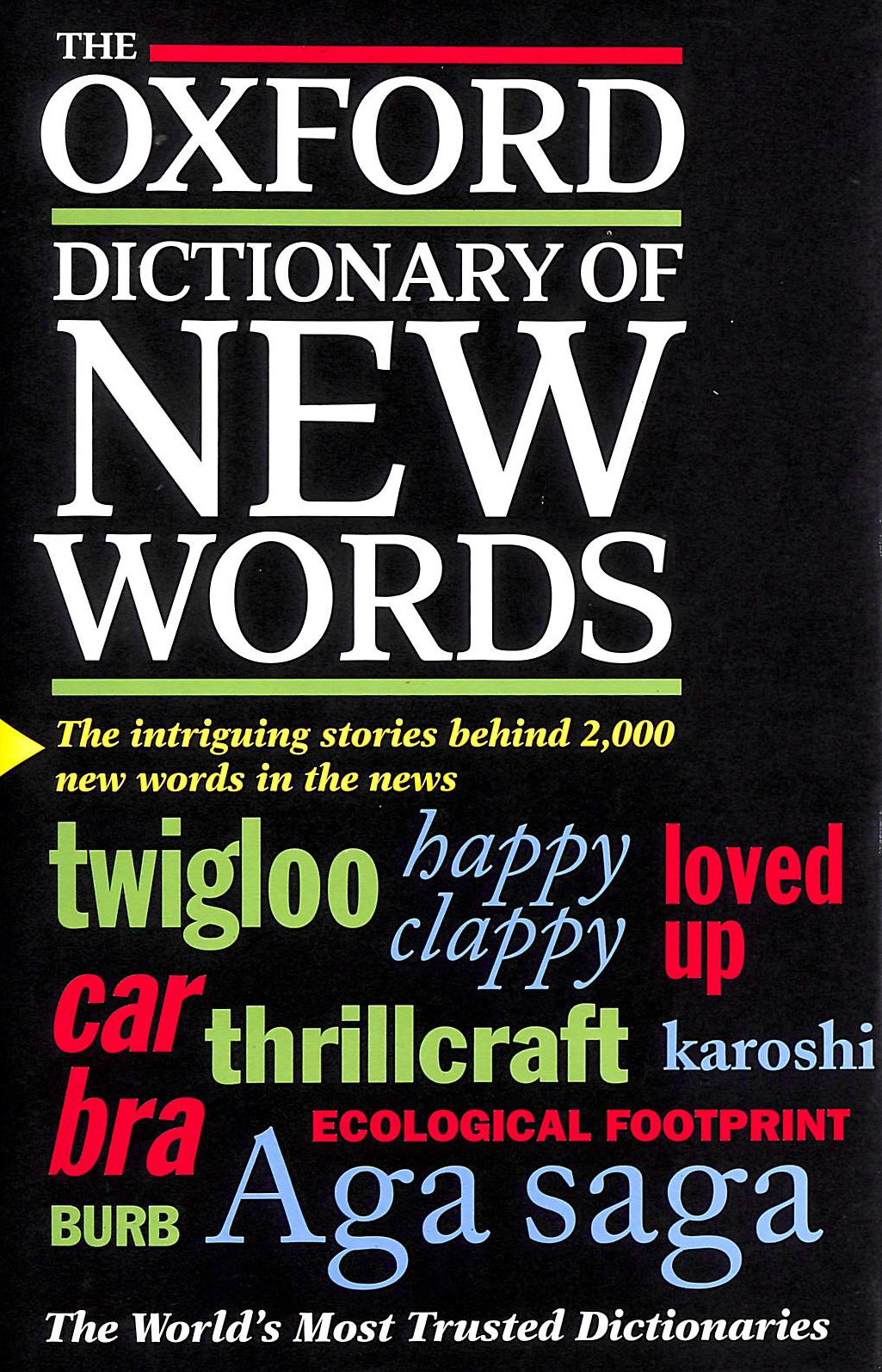Image for The Oxford Dictionary of New Words