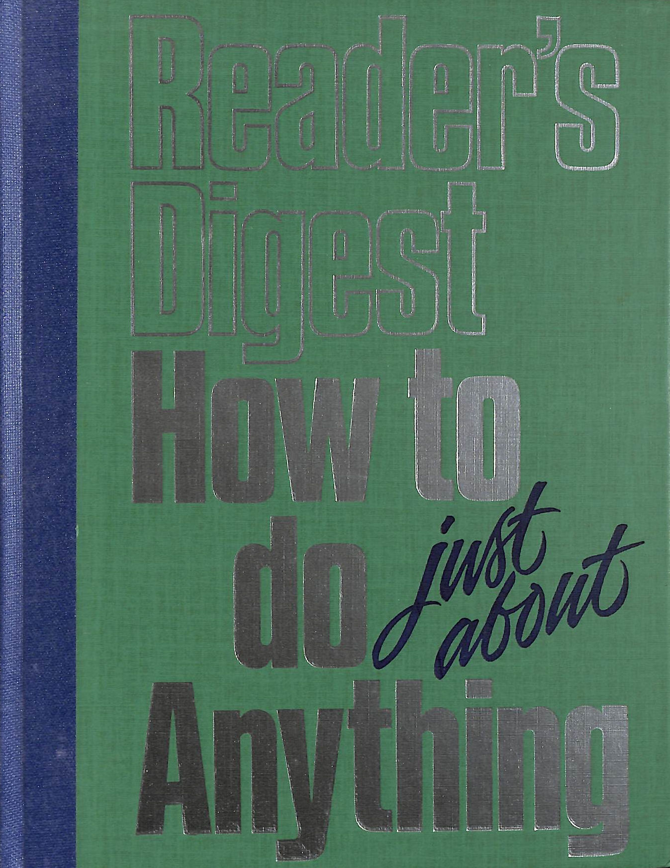 Image for Reader's Digest How to do just about Anything