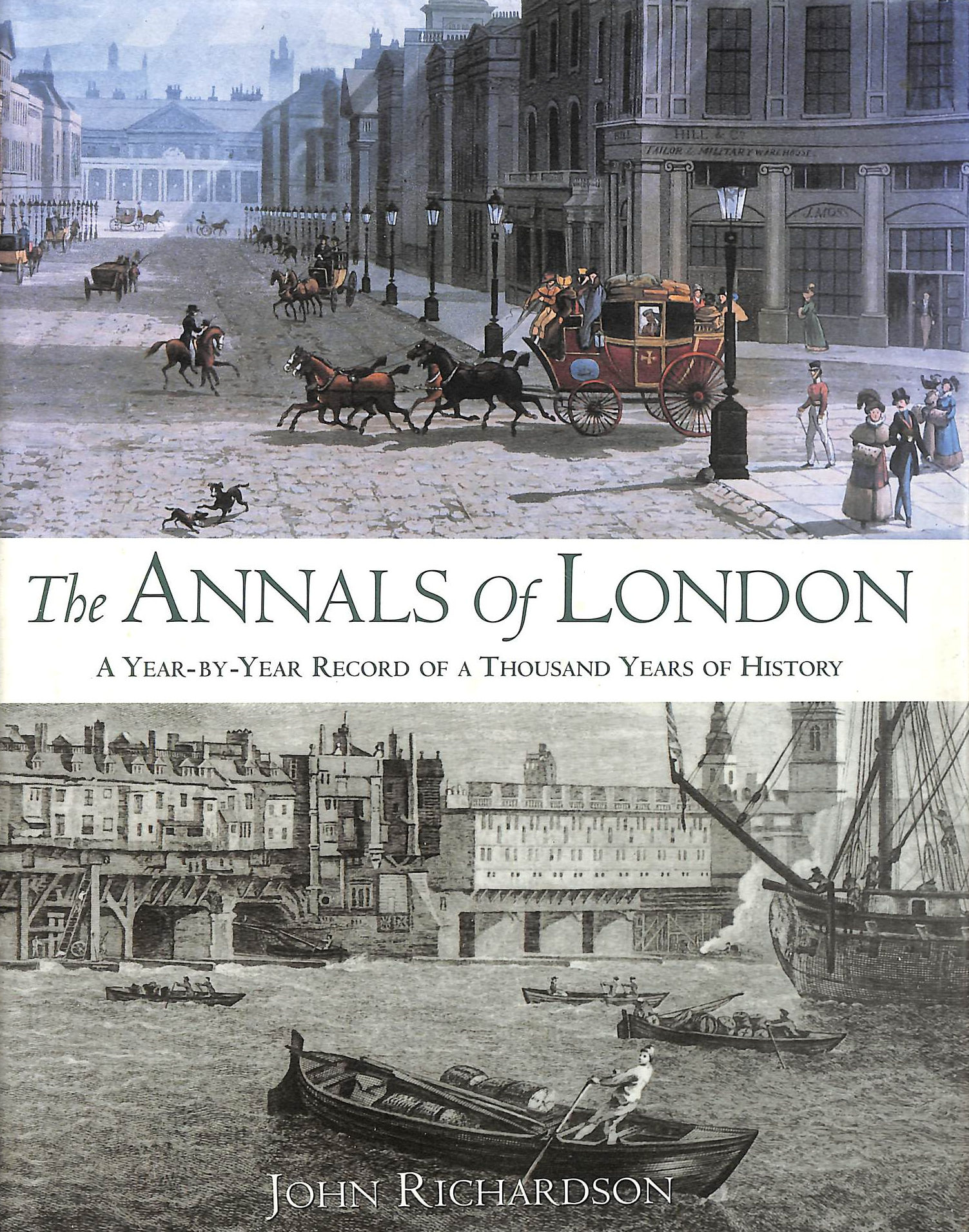 Image for THE ANNALS OF LONDON: A Year By Year Record Of A Thousand Years Of History