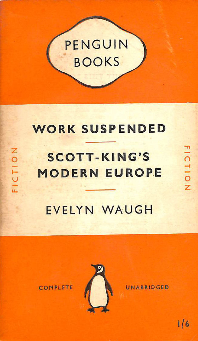 "Image for Work suspended,and other stories,together with ""Scott-King's modern Europe"""
