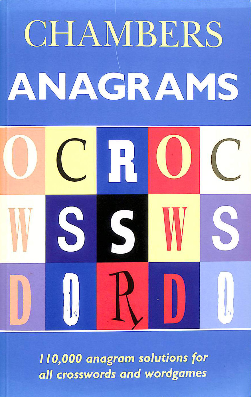 Image for Chambers Anagrams