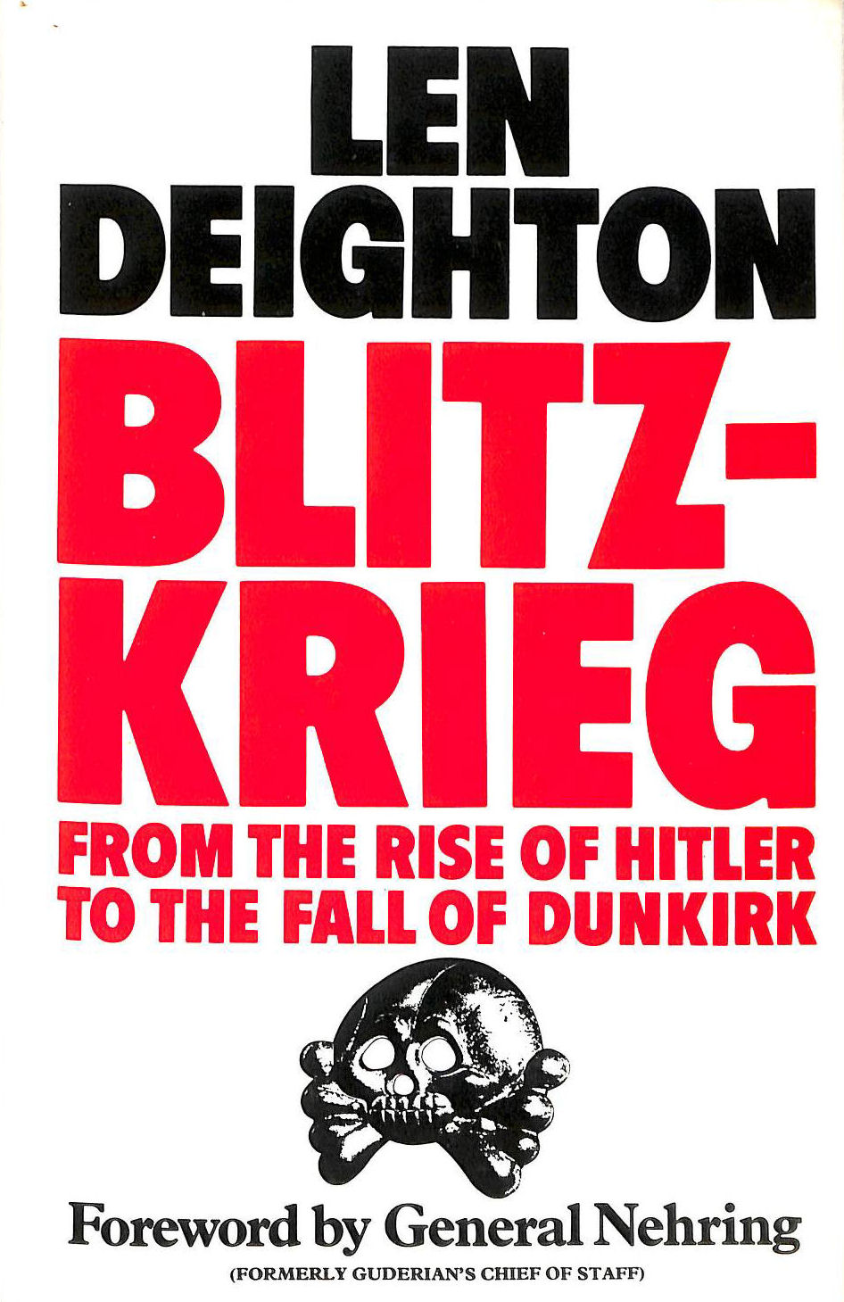 Image for Blitzkrieg: From the Rise of Hitler to the Fall of Dunkirk