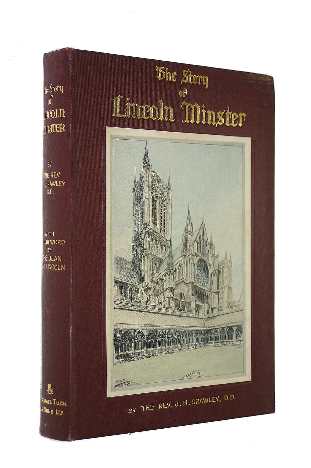 Image for THE STORY OF LINCOLN MINSTER.