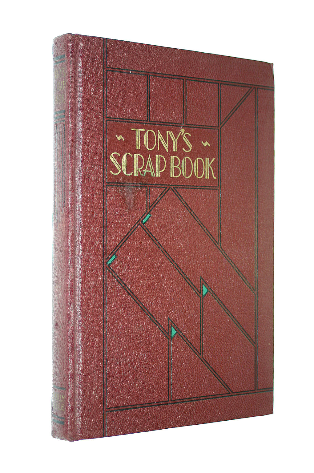 Image for Tony's Scrap Book 1932-33