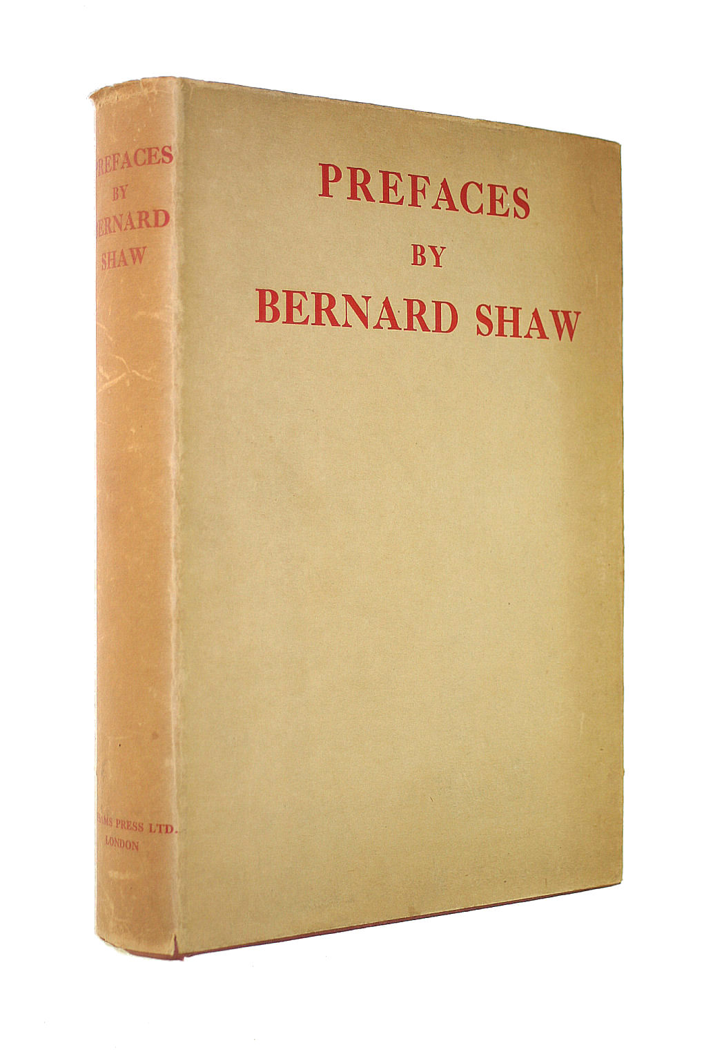 Image for Prefaces By Bernard Shaw