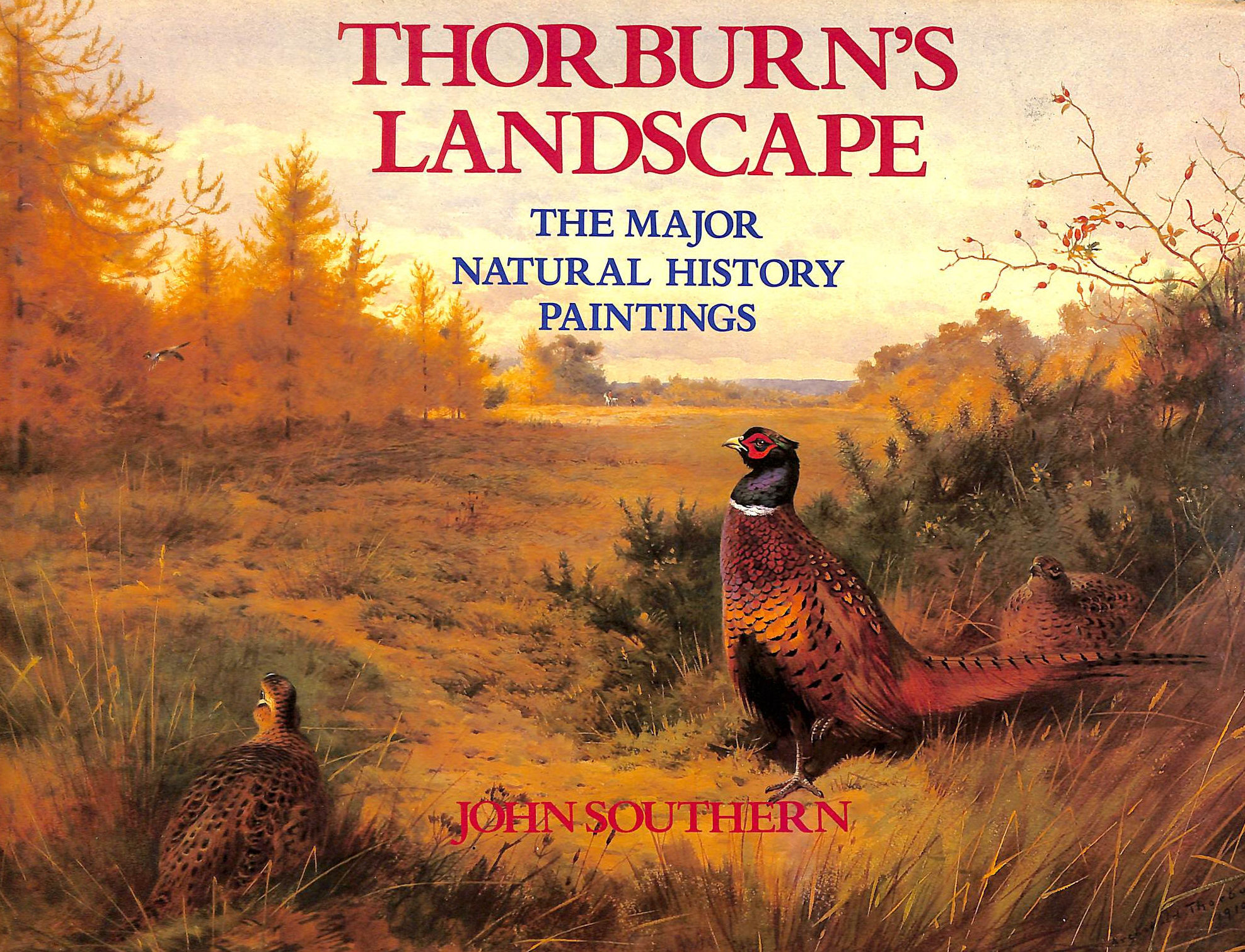 Image for Thorburn's Landscape: Major Natural History Paintings