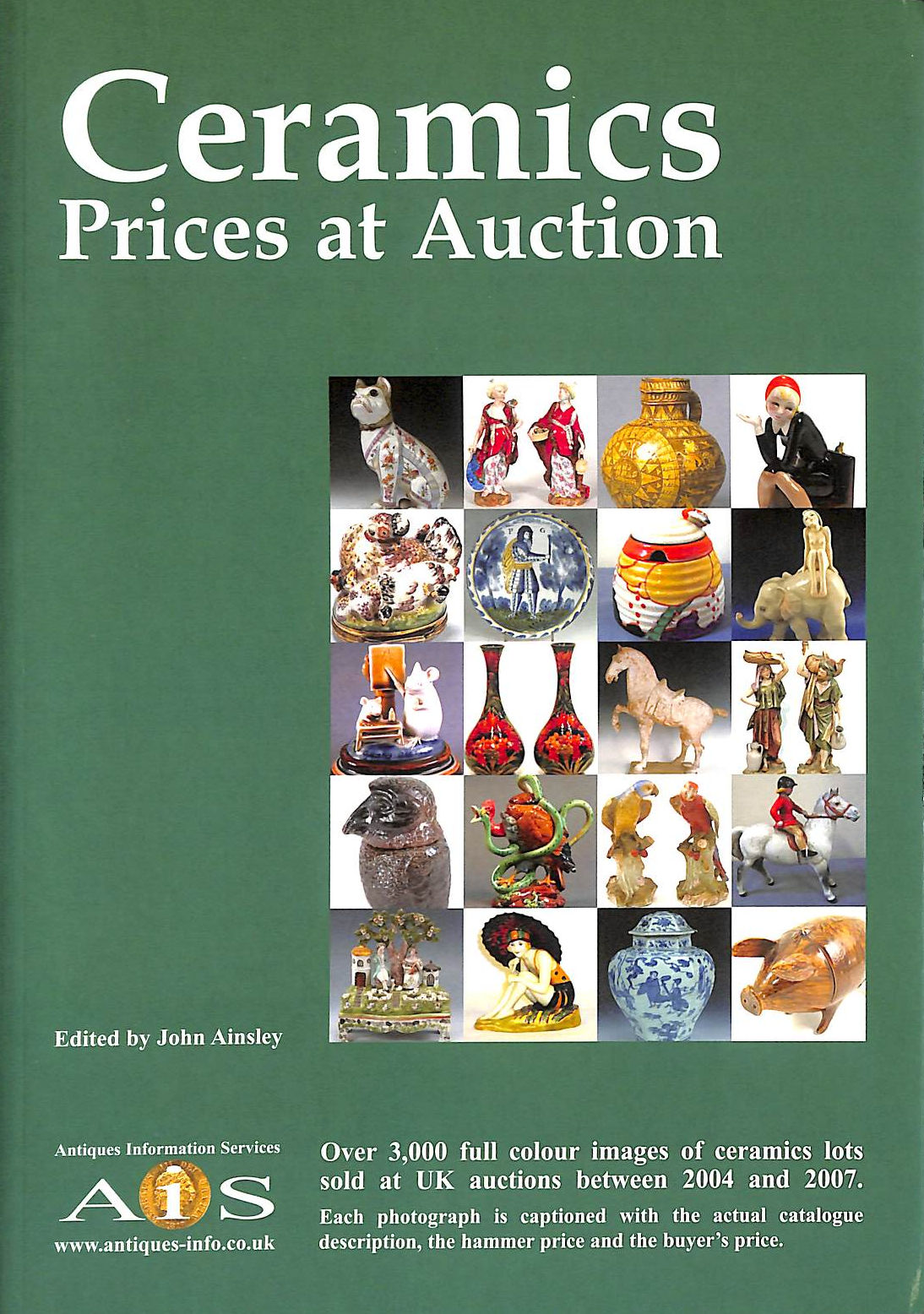 Image for Ceramics Prices at Auction 2004-2007