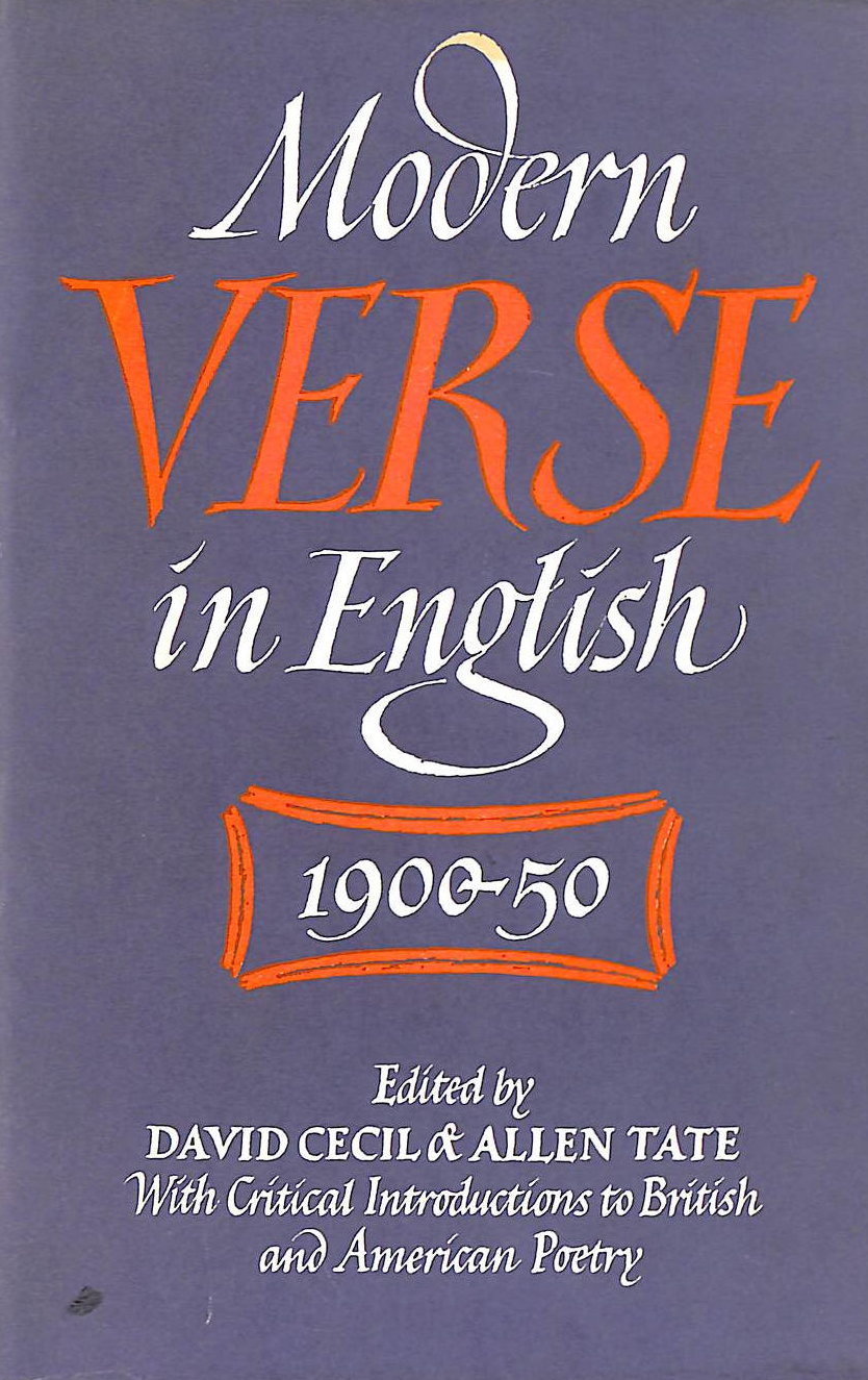Image for Modern verse in English