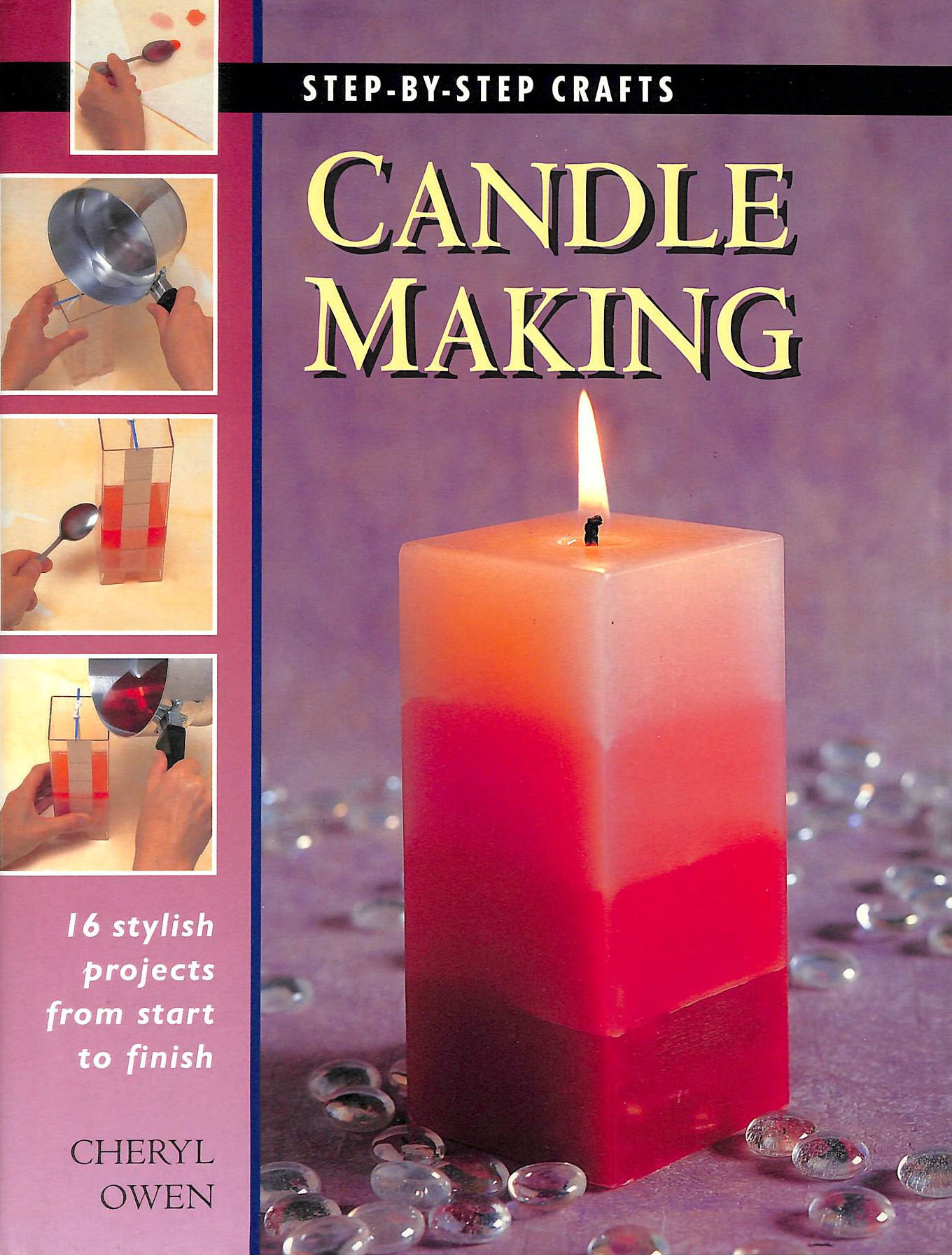 Image for Step by Step Candle Making (Step-by-step Crafts S.)