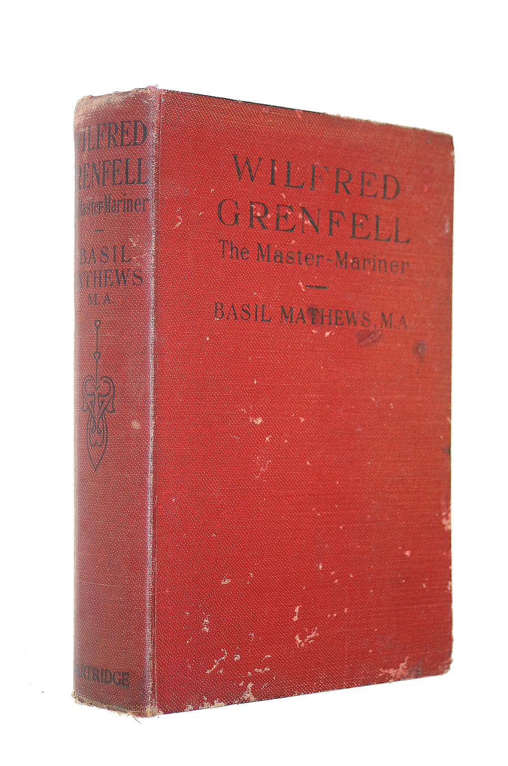 Image for WILFRED GRENFELL THE MASTER-MARINER