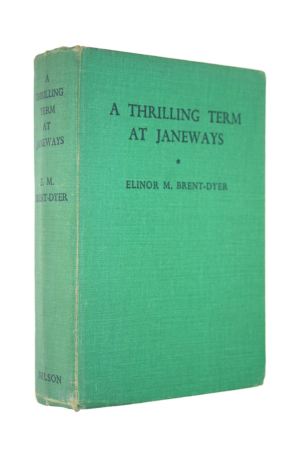 Image for A Thrilling Term at Janeways': A School Story for Girls
