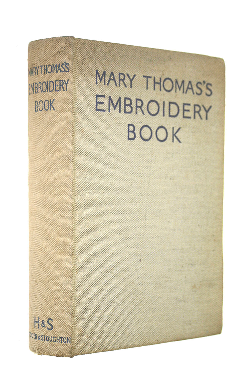 Image for Mary Thomas's DICTIONARY OF EMBROIDERY STITCHES
