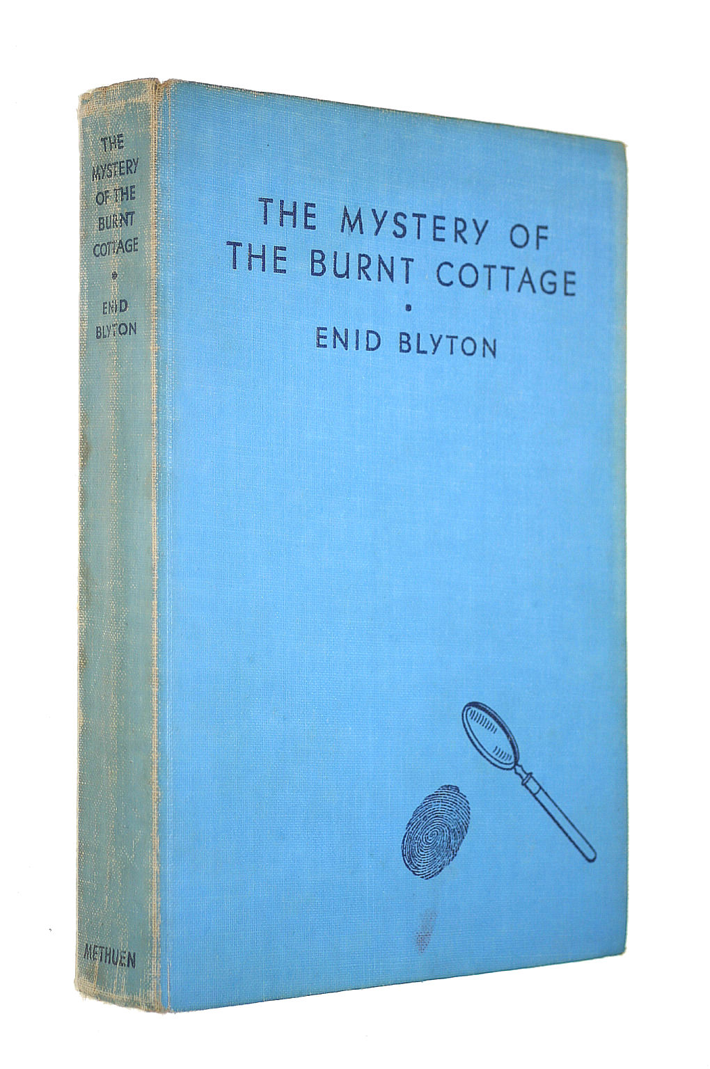 Image for The Mystery of the Burnt Cottage The First Adventure of the Five Find Outers and Dog