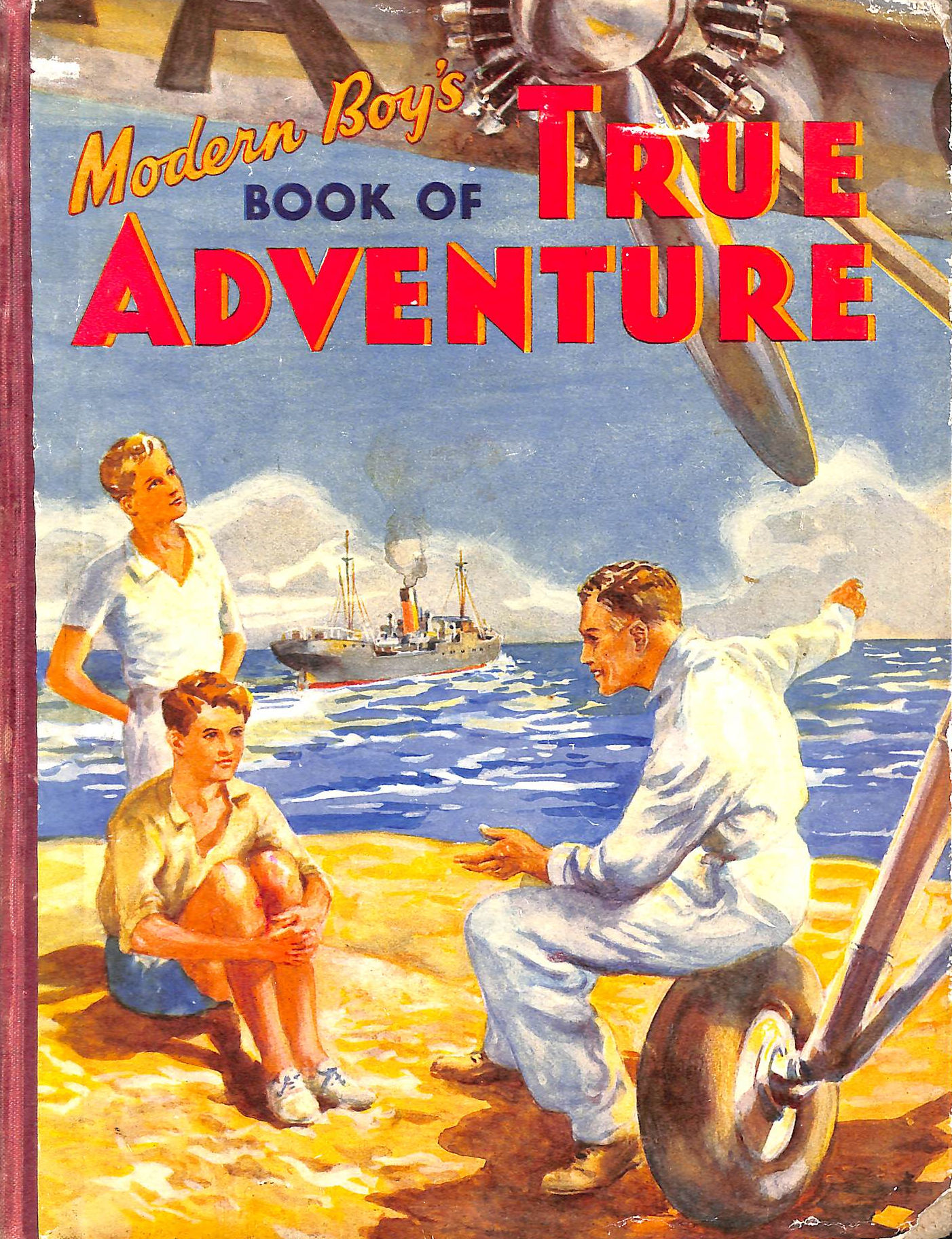 Image for Modern Boy's Book of True Adventure