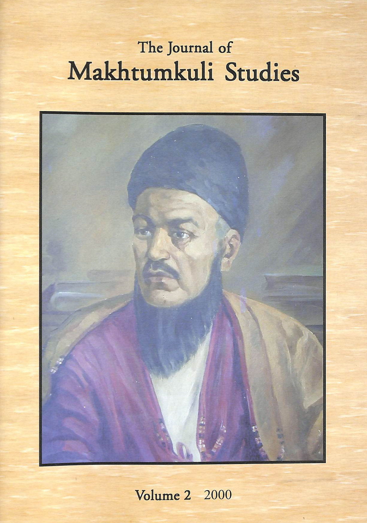 Image for The Journal of Makhtumkuli Studies Volume 2