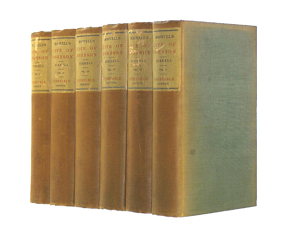Image for Boswell's Life of Johnson (6 volumes)