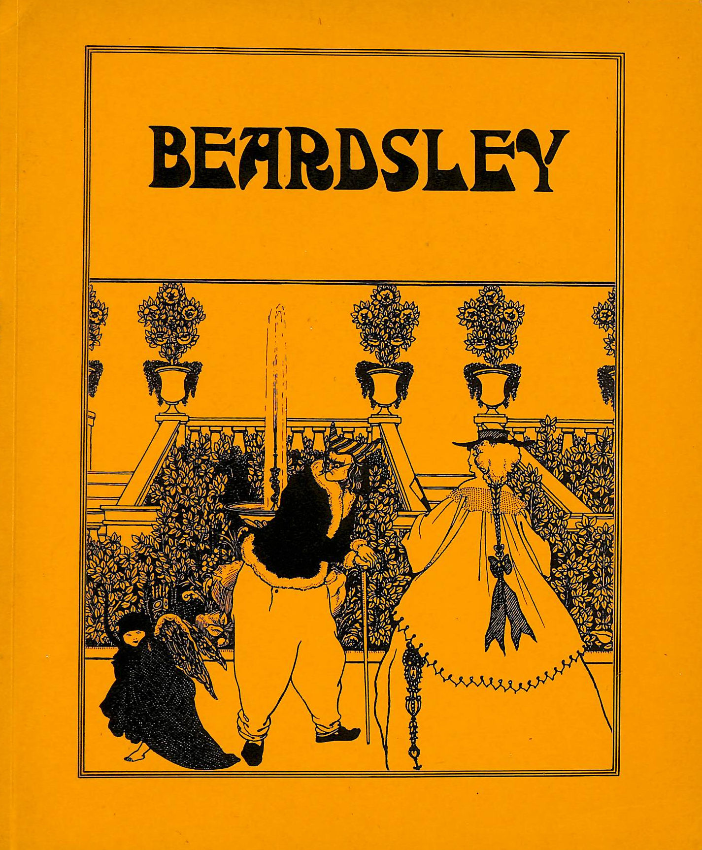 Image for Beardsley, being a collection of drawings by Aubrey Beardsley, selected and edited by David Pearson.