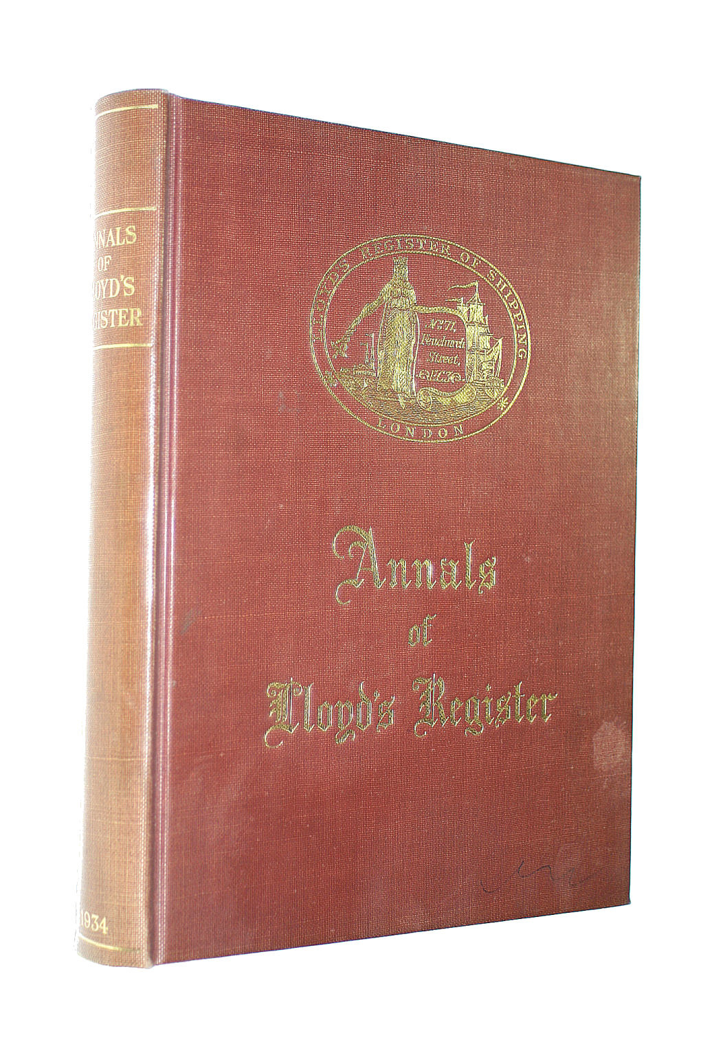 Image for ANNALS OF LLOYDS REGISTER: CENTENARY EDITION.