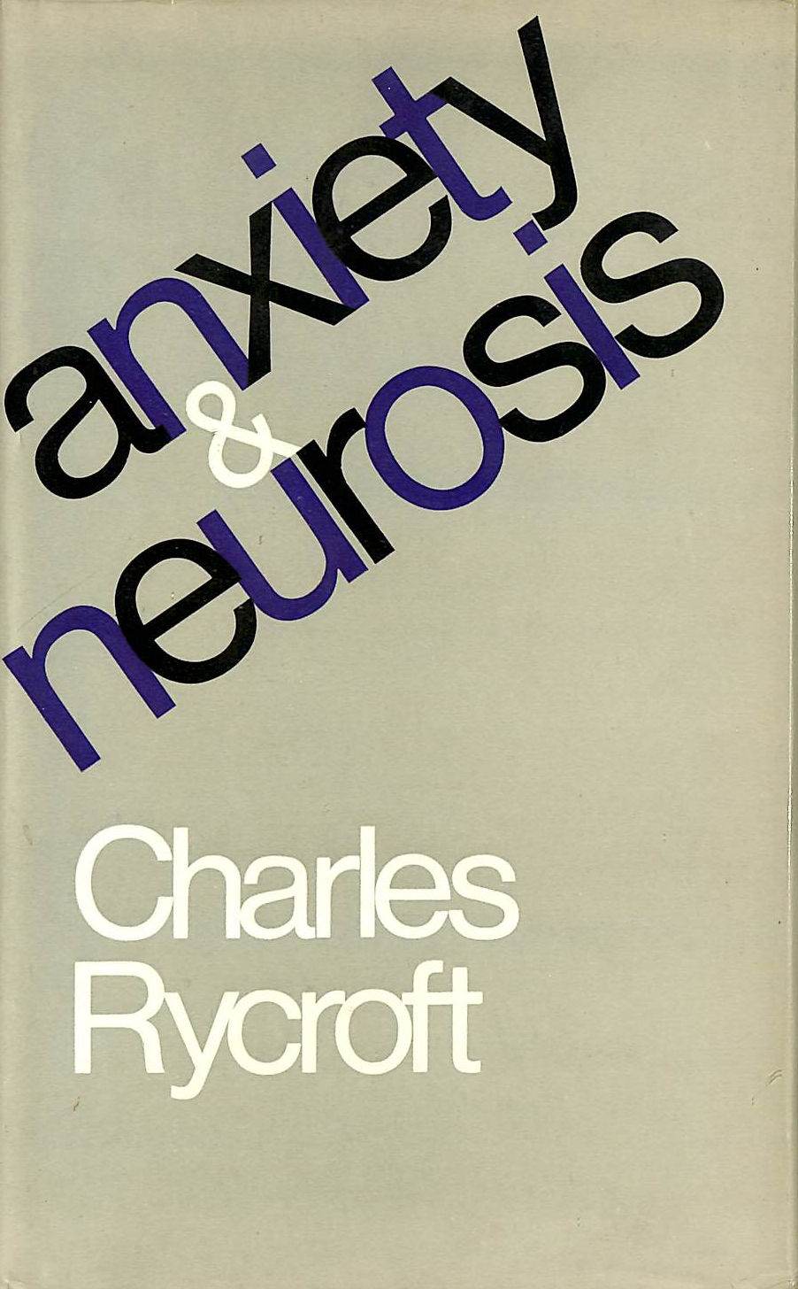 Image for Anxiety and Neurosis