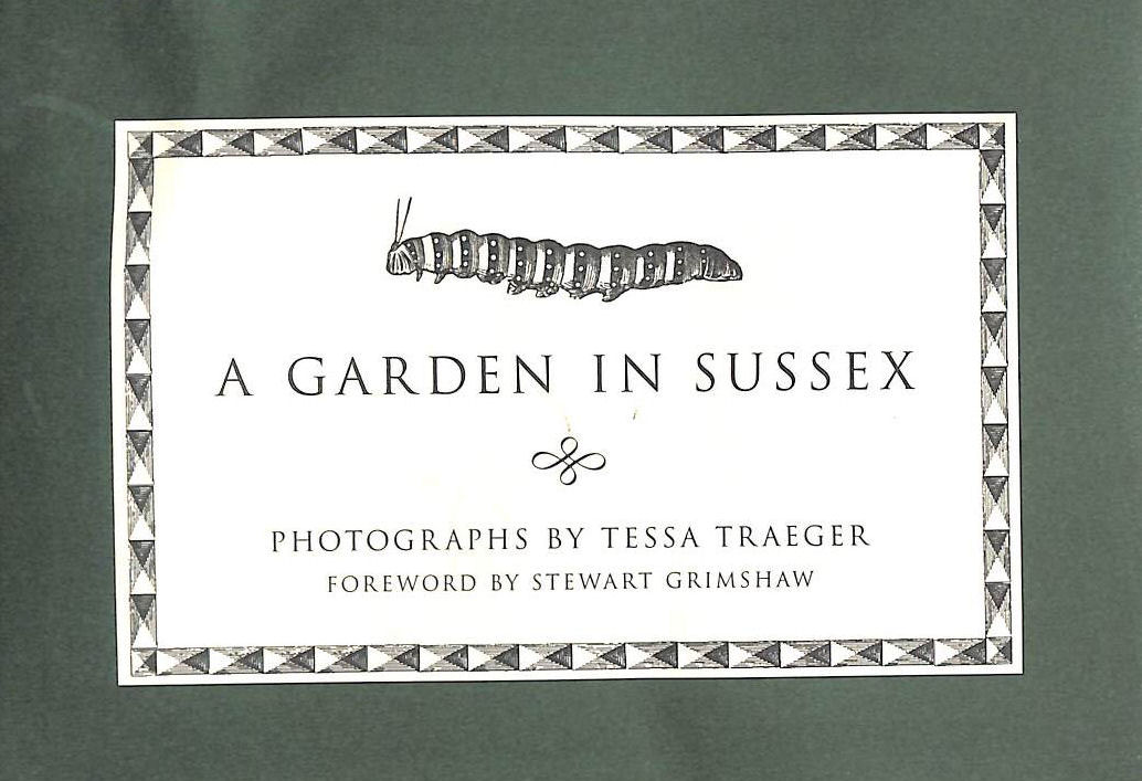 Image for A Garden in Sussex (John Sandoe Christmas Booklets)