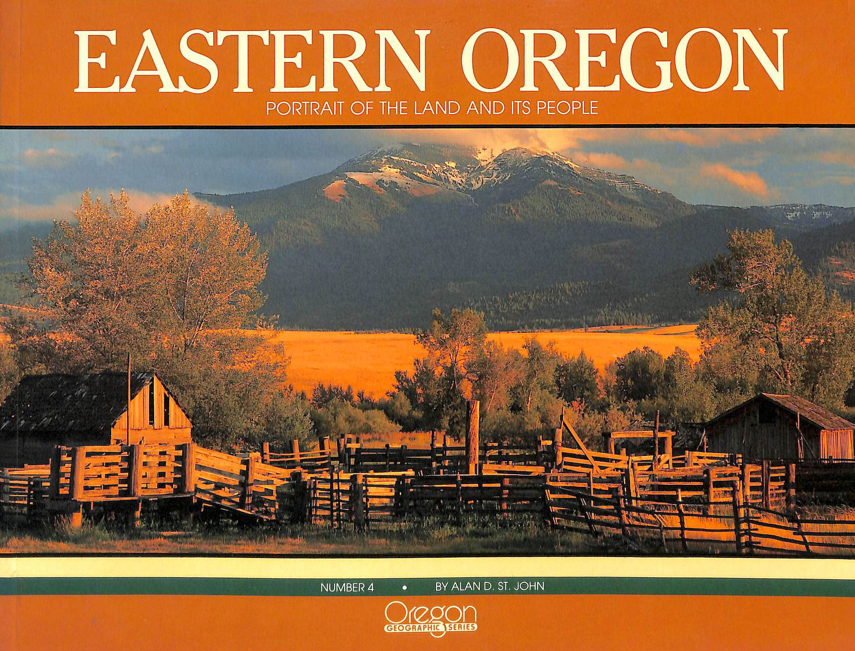 Image for Eastern Oregon: Portrait of the Land and Its People
