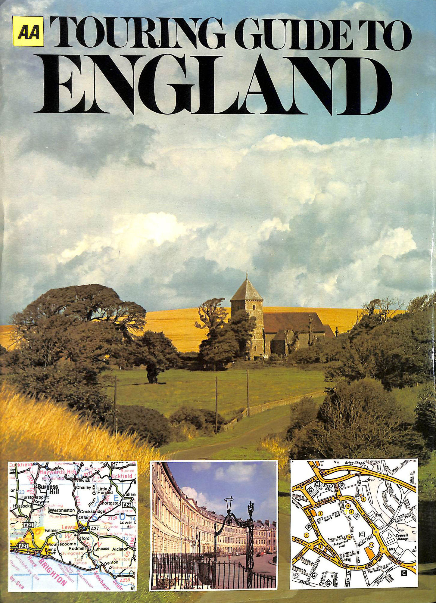 Image for AA Touring Guide to England