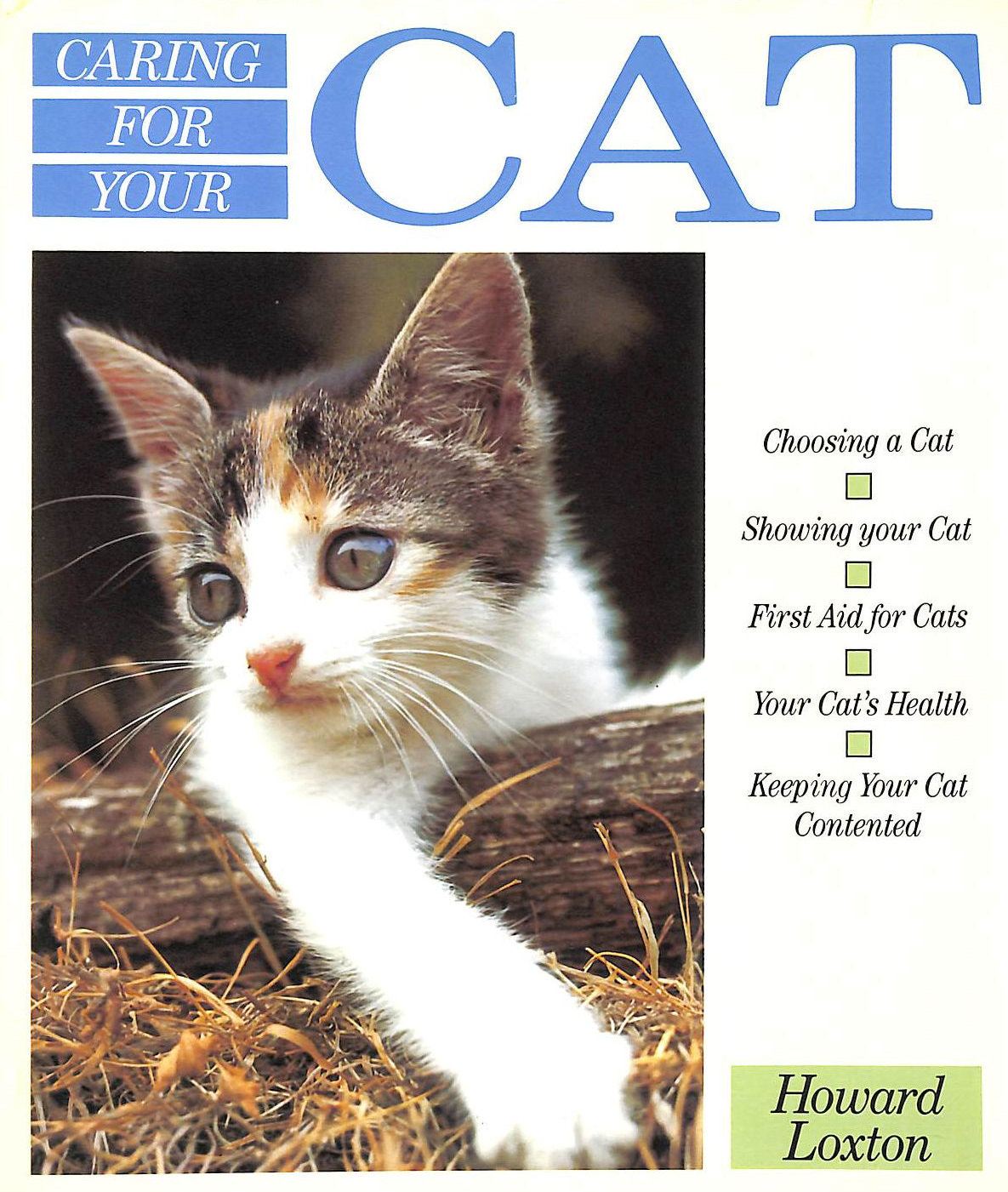 Image for Caring for Your Cat