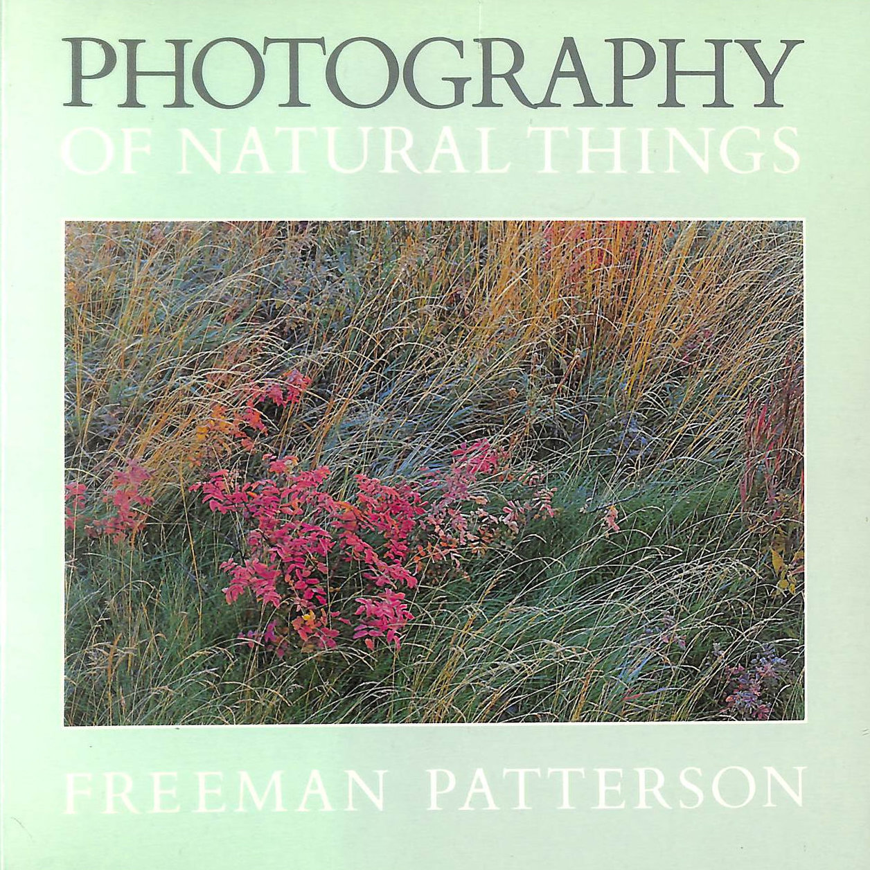 Image for Photography of Natural Things (Photography S.)
