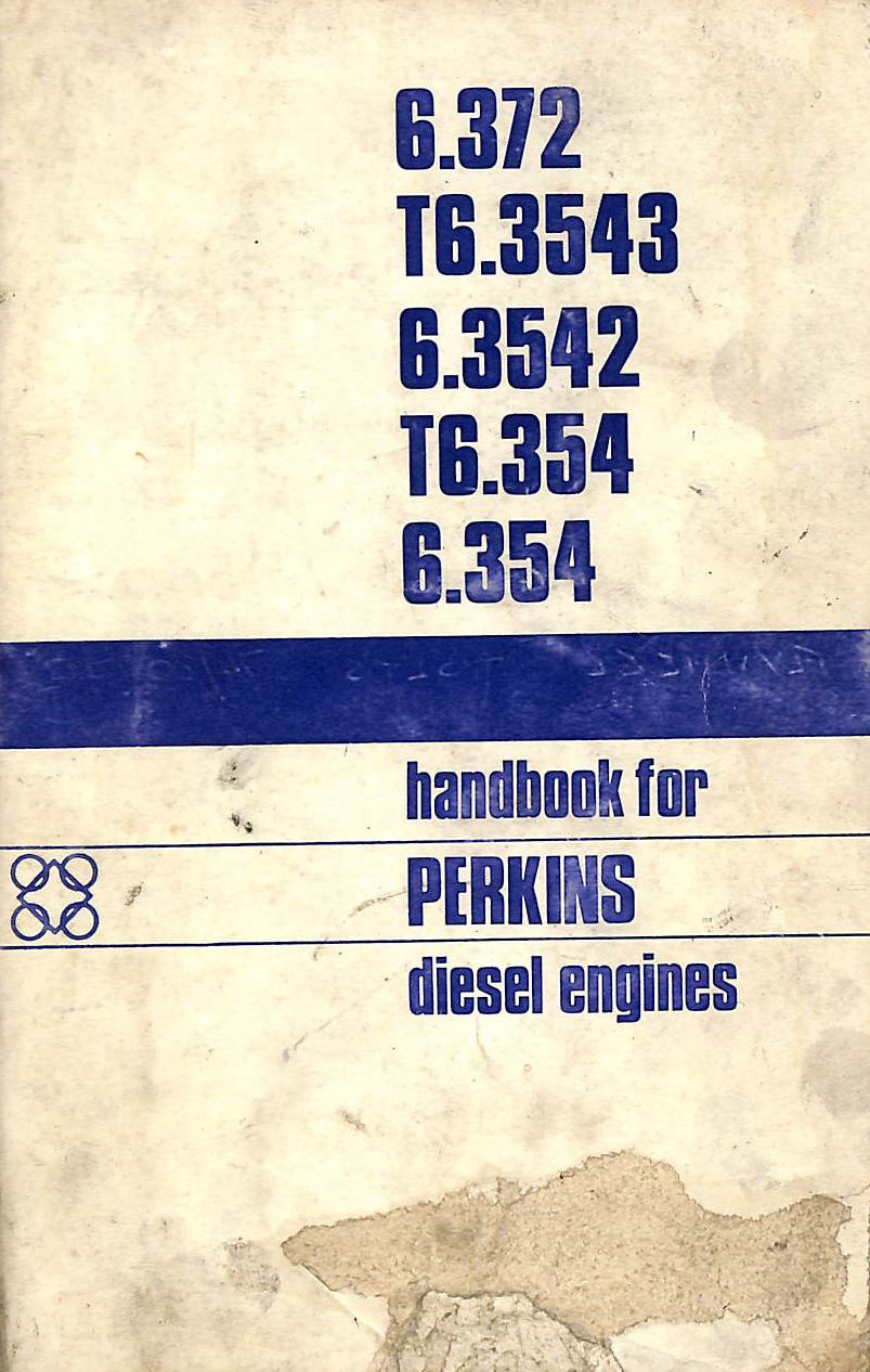 Image for Perkins Handbook for Diesel Engines 6.372 / T6.3543 / 6.3542 / T6.354 / 6.354