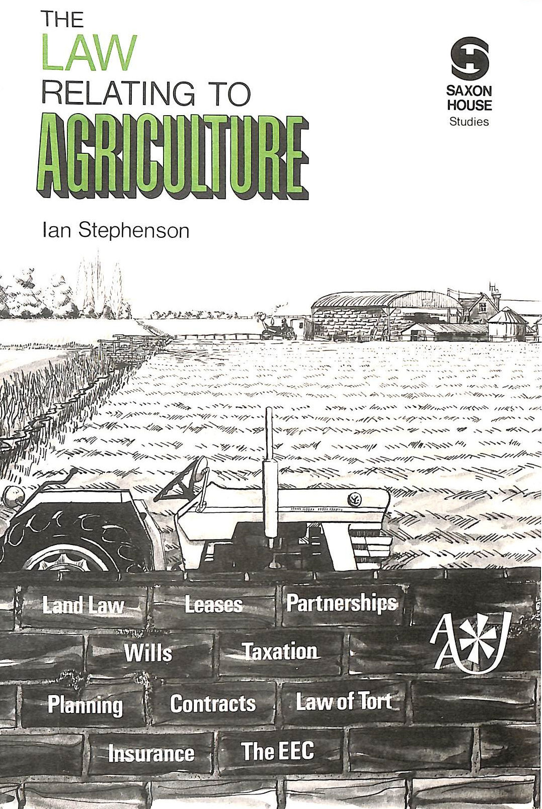 Image for Law Relating to Agriculture ([Saxon House studies])