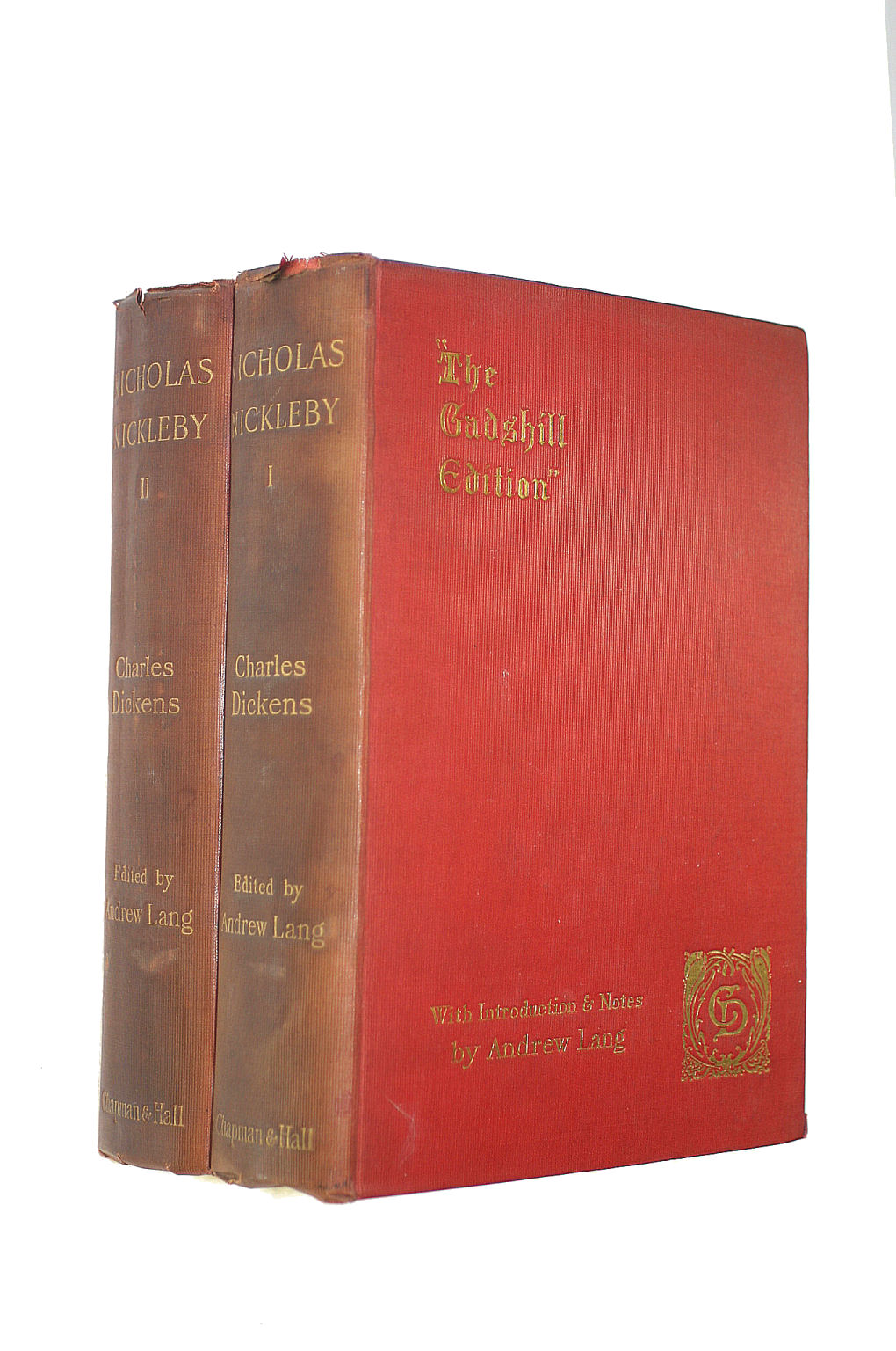 Image for The Life and Adventures of Nicholas Nickleby (2 volumes)