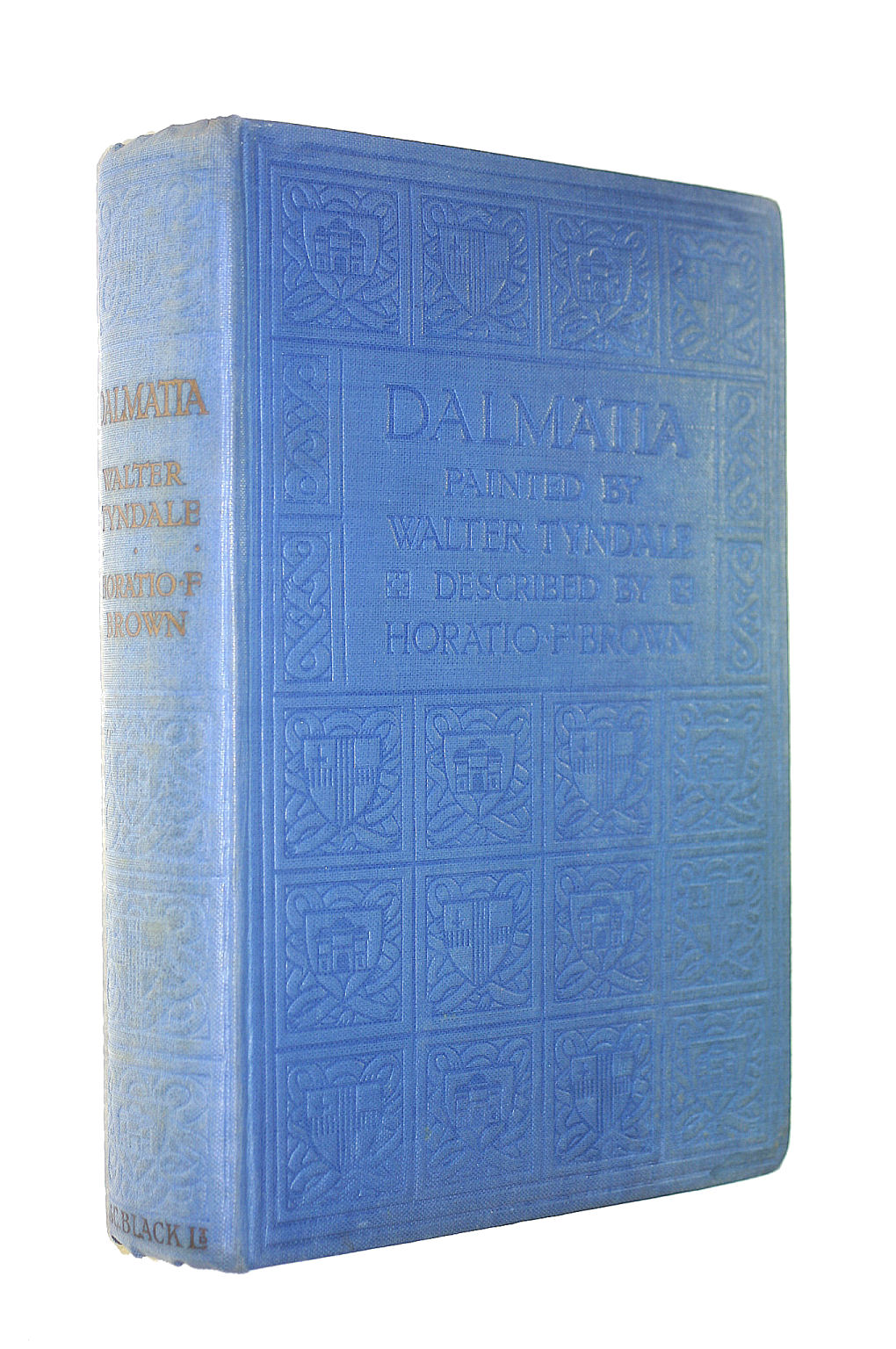 Image for Dalmatia - Illustrated by Walter Tyndale