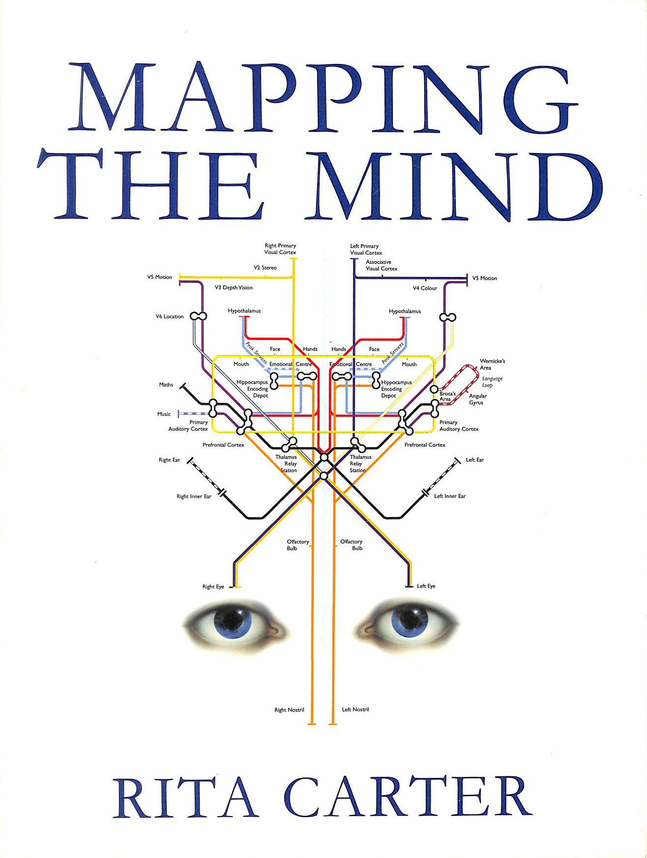CARTER, RITA - Mapping The Mind