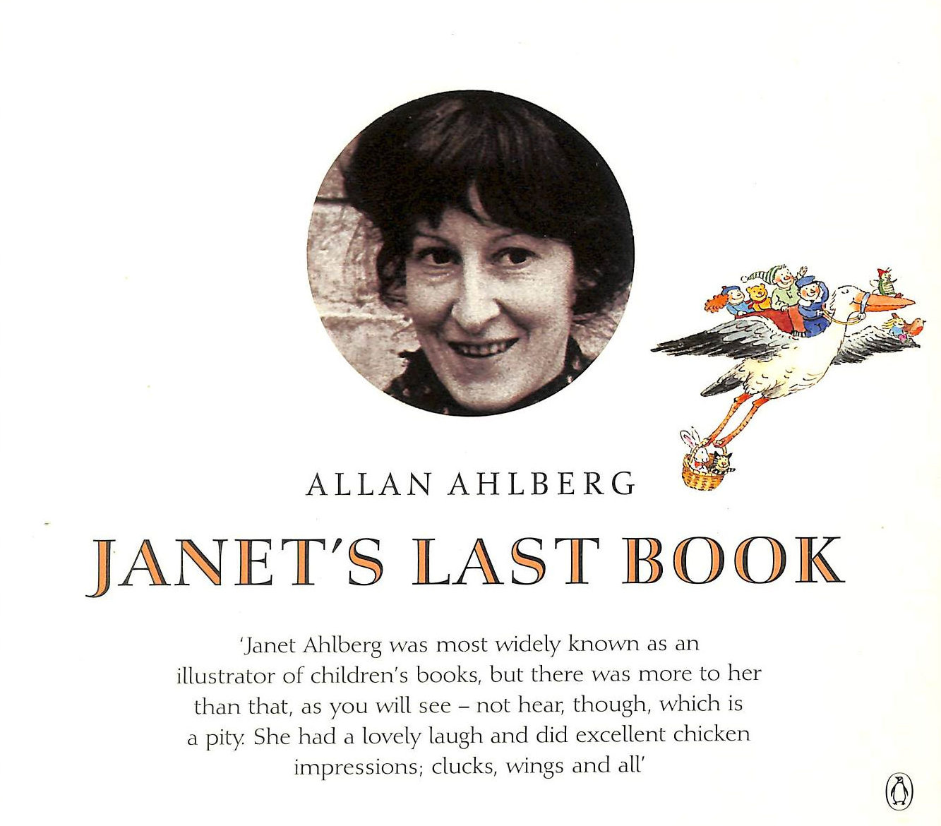 Image for Janet's Last Book: Janet Ahlberg 1944-1994: A Memento