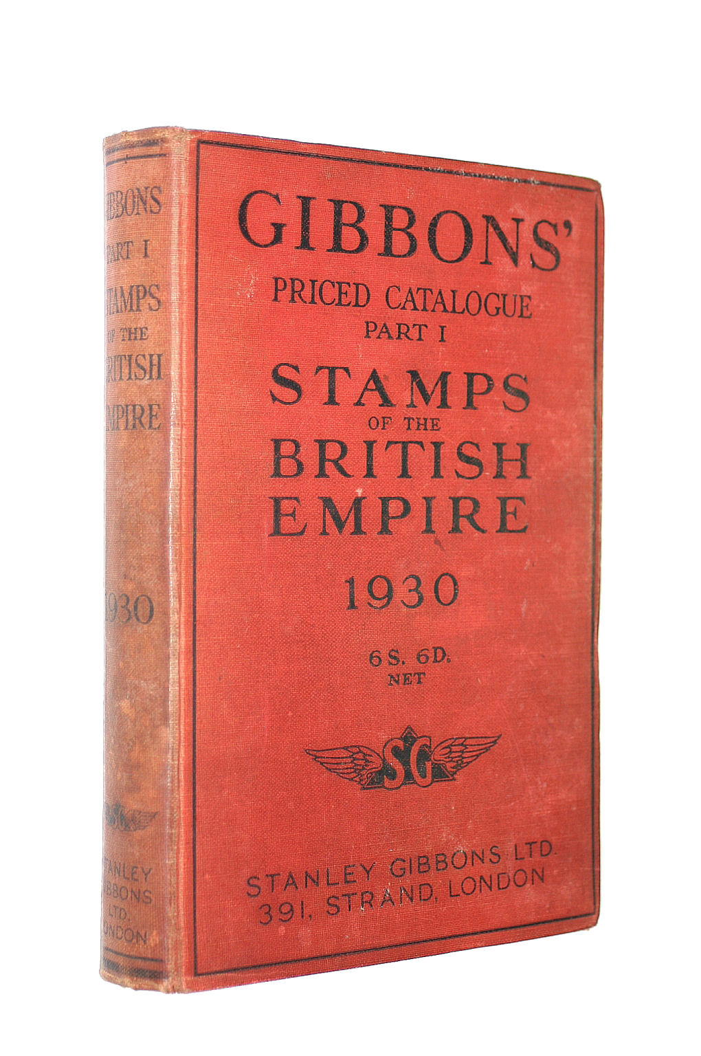 Image for Gibbons' Priced Catalogue Part I Stamps Of The British Empire 1930