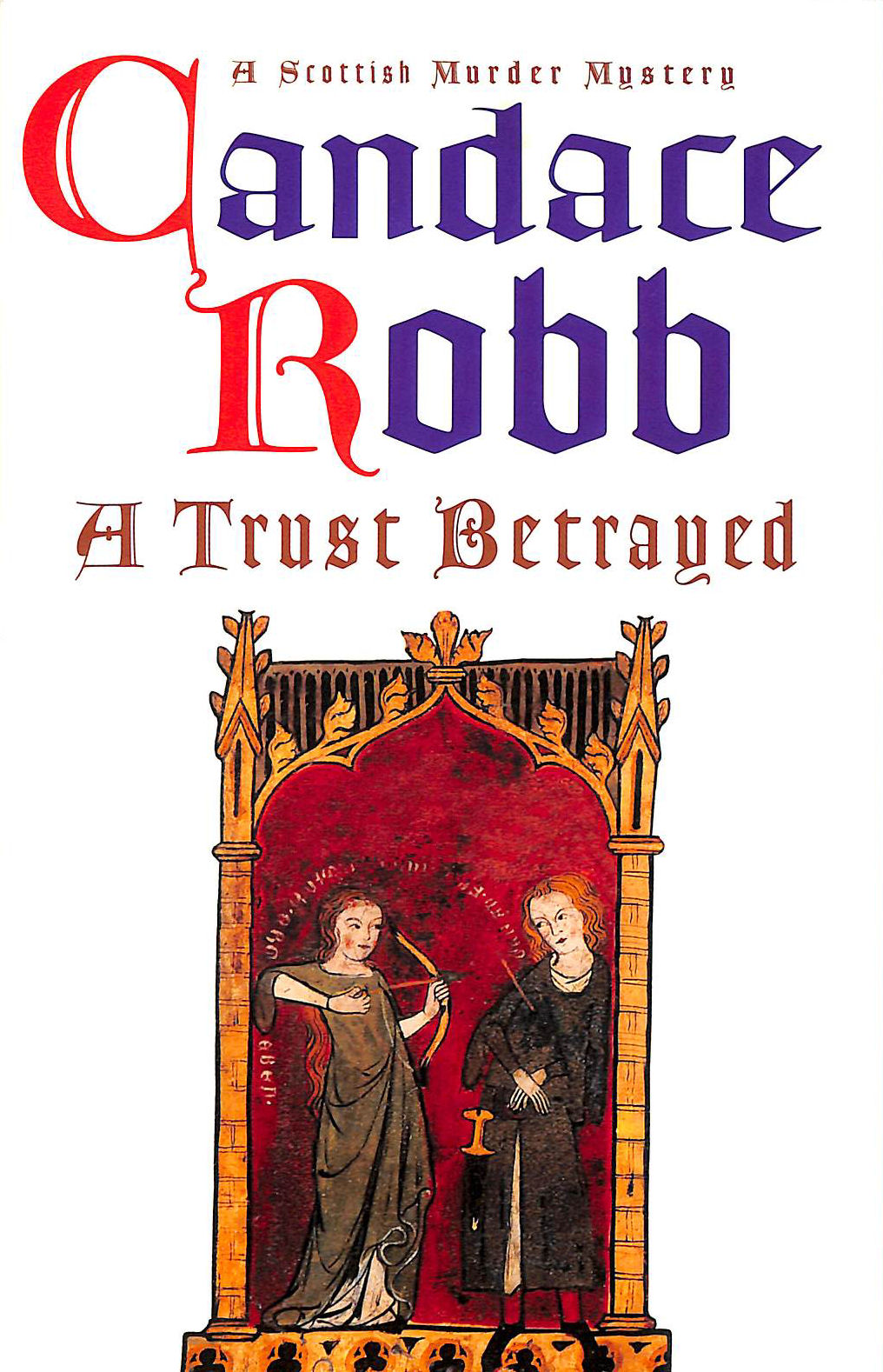Image for A Trust Betrayed (A Scottish Murder Mystery)