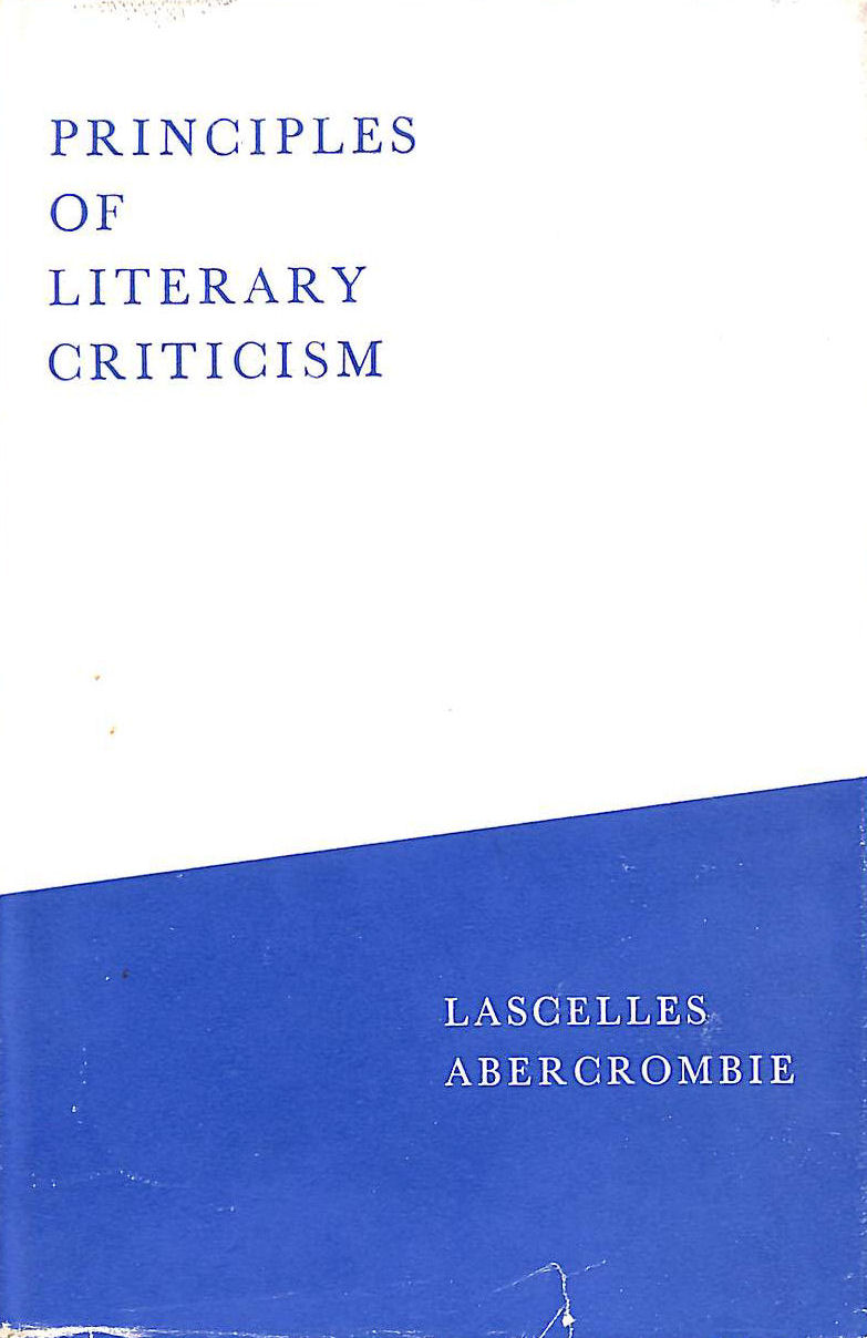 Image for Principles Of Literary Criticism