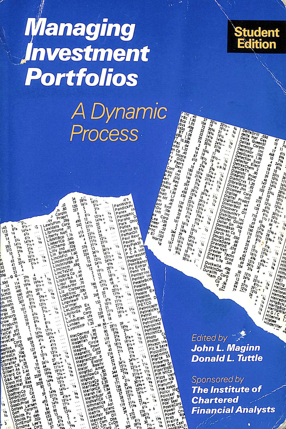 Image for Managing Investment Portfolios
