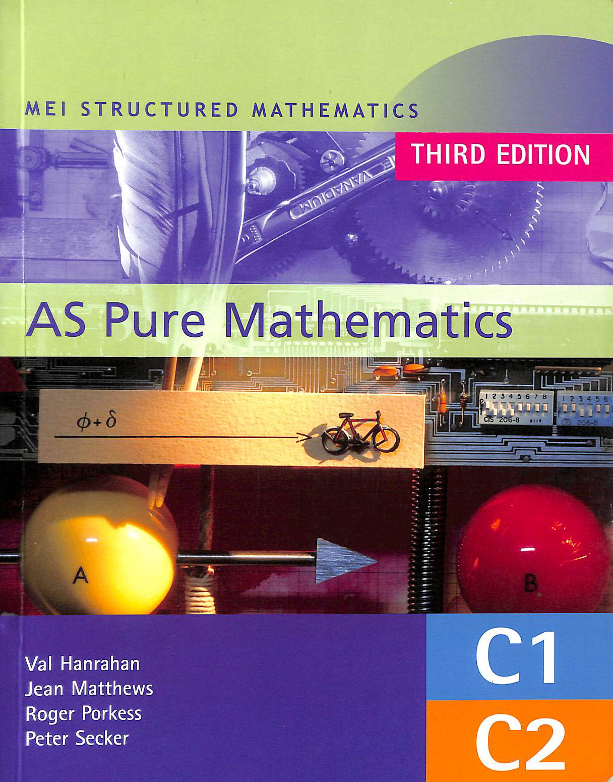 Image for Mei As Pure Mathematics 3Rd Edition: Core 1 & 2 (Mei Structured Mathematics (A+As Level))