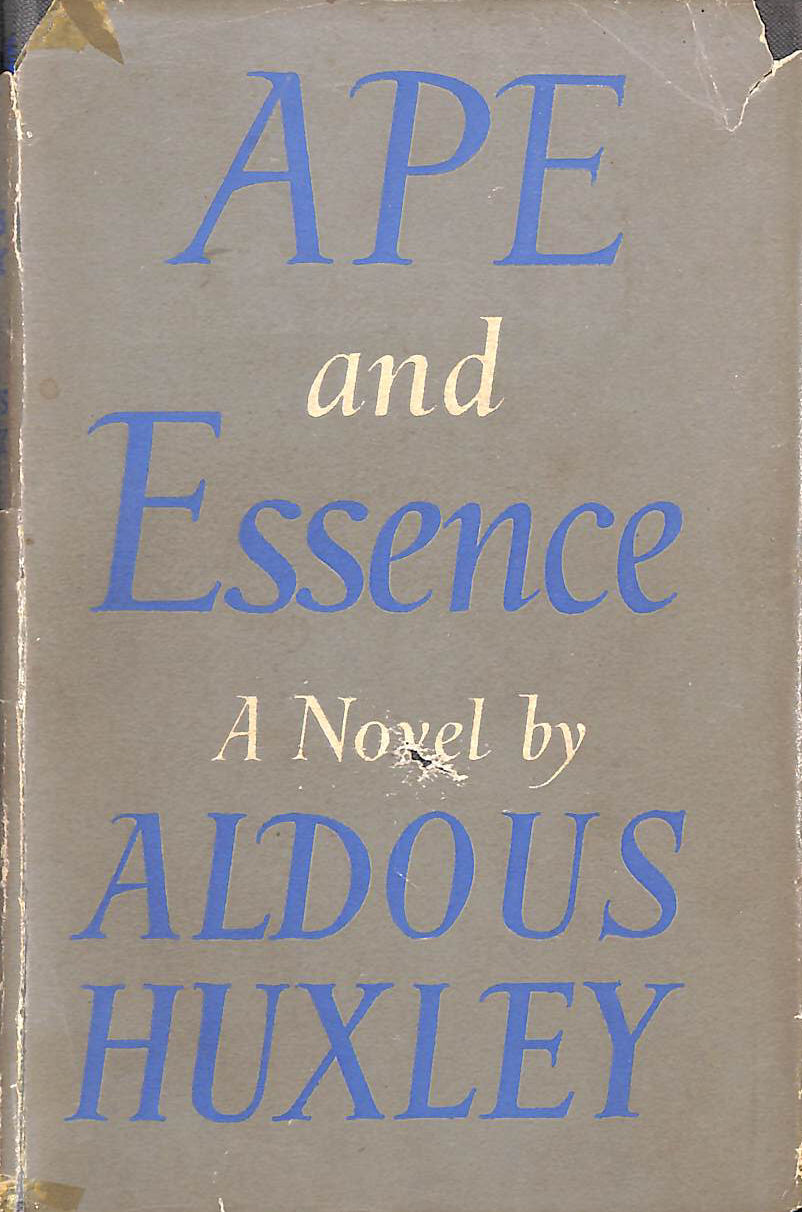 Image for Ape And Essence