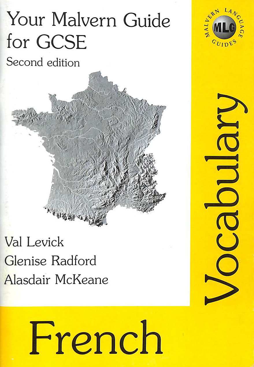 Image for Your Malvern Guide For Gcse: French Vocabulary (Malvern Language Guides)