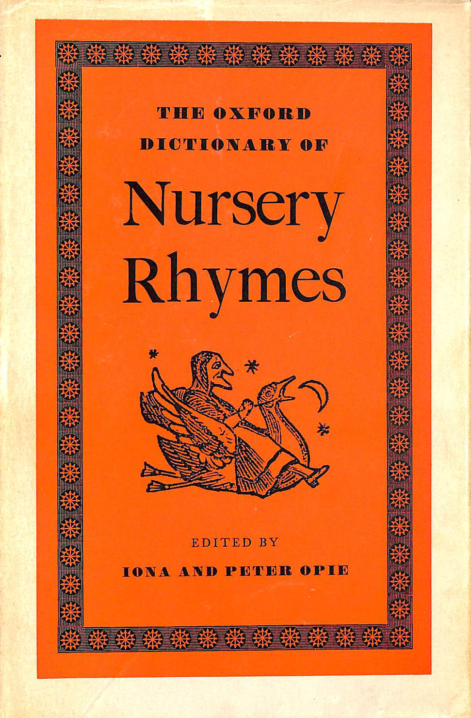 Image for The Oxford Dictionary Of Nursery Rhymes