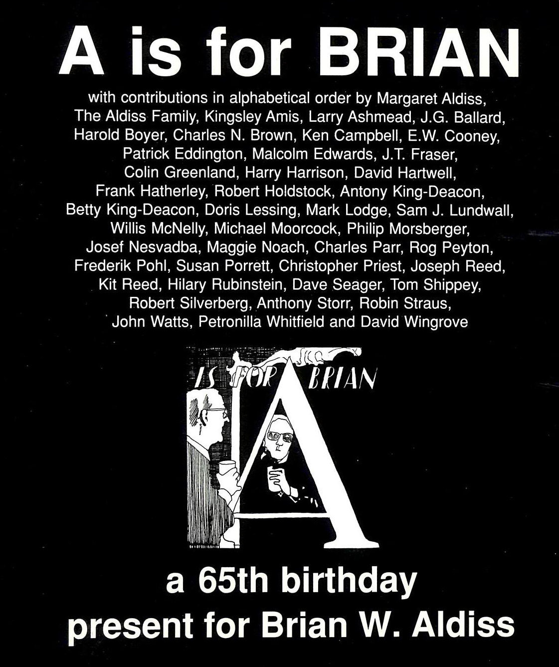 Image for A. Is For Brian: Brian W. Aldiss