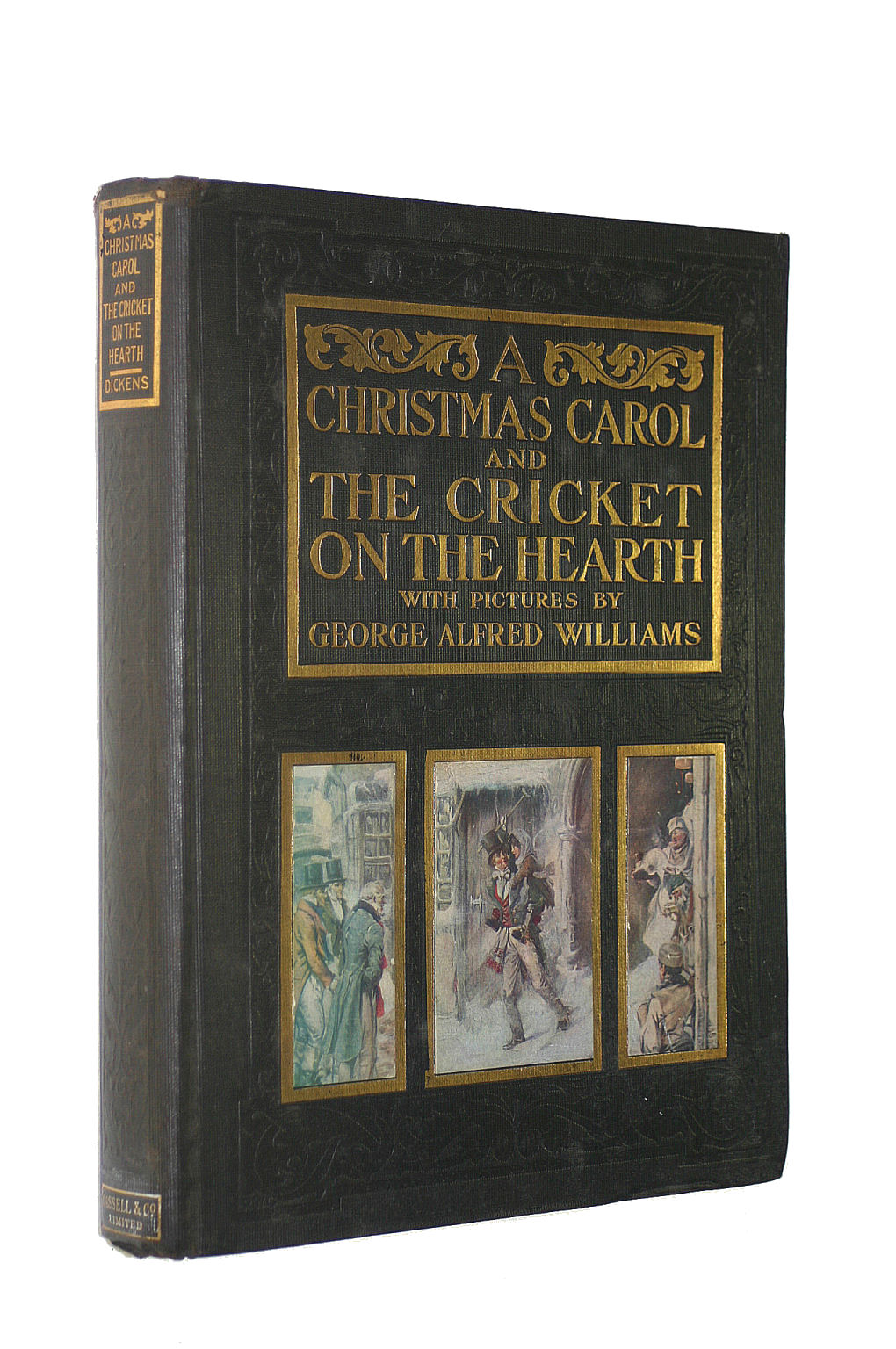 Image for A Christmas Carol and The Cricket on the Hearth