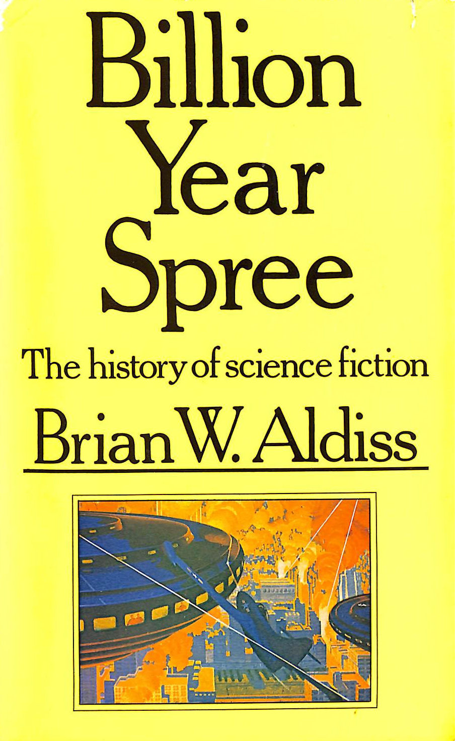 Image for Billion Year Spree : The History Of Science Fiction,