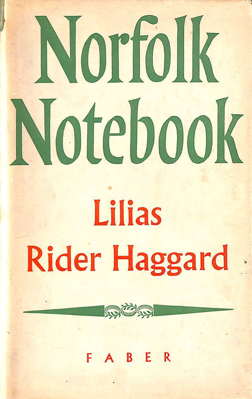 Image for A Norfolk Notebook