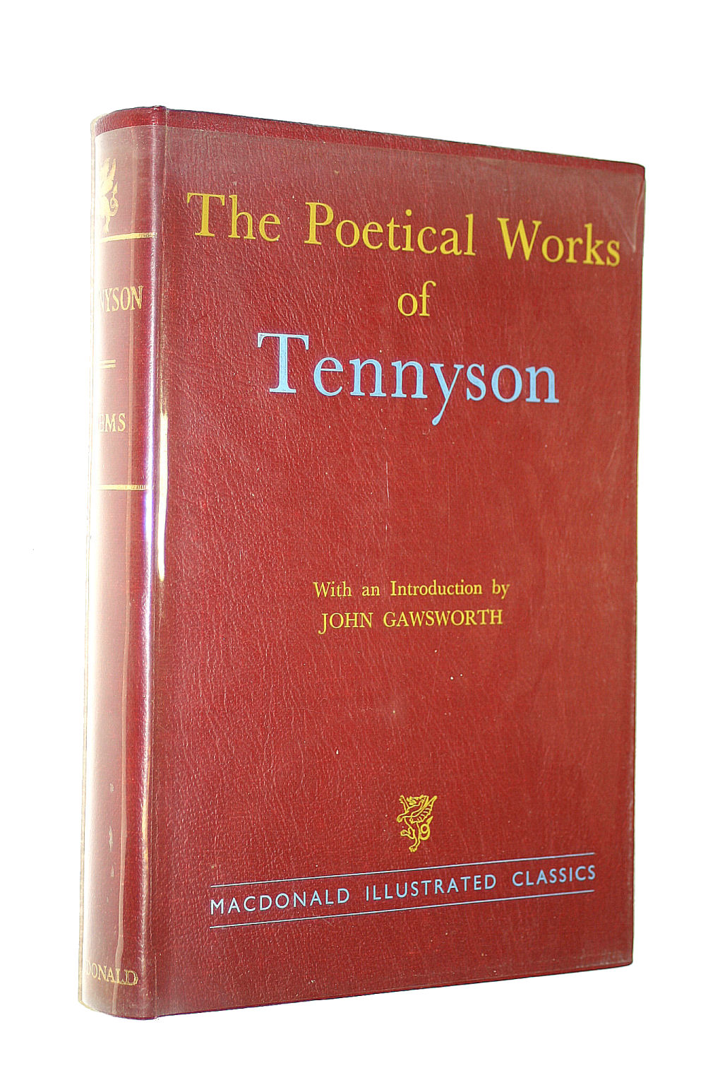 Image for The Poetical Works Of Tennyson (Macdonald Illustrated Classics Series; No.19)
